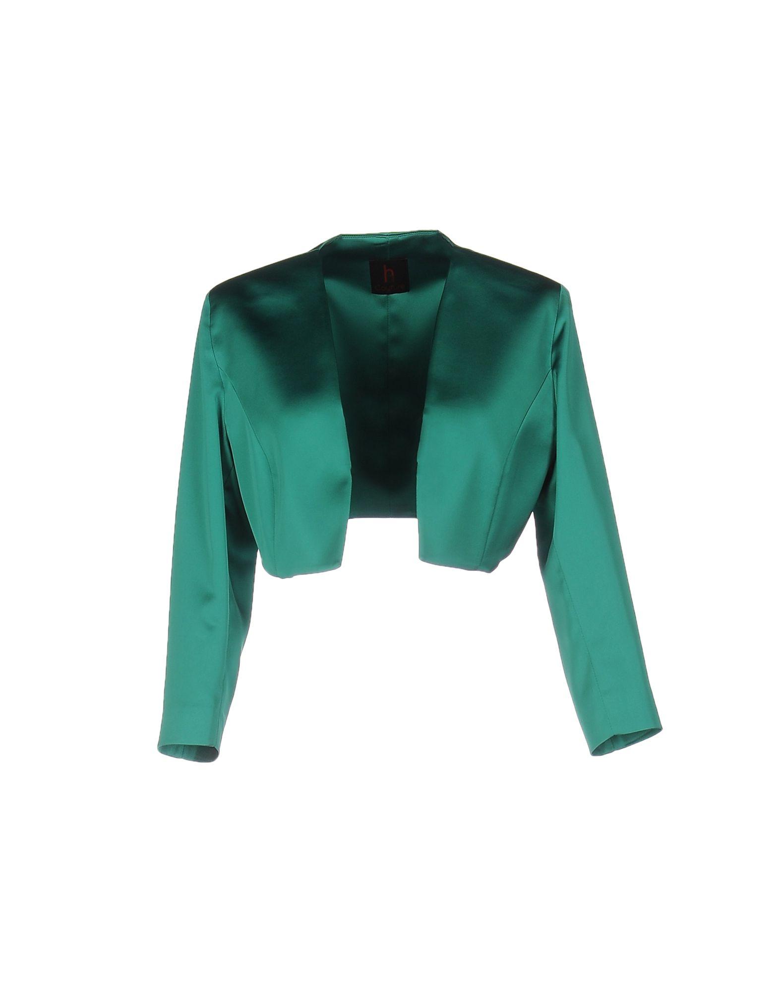 HH COUTURE Damen Jackett Farbe Grün Größe 5