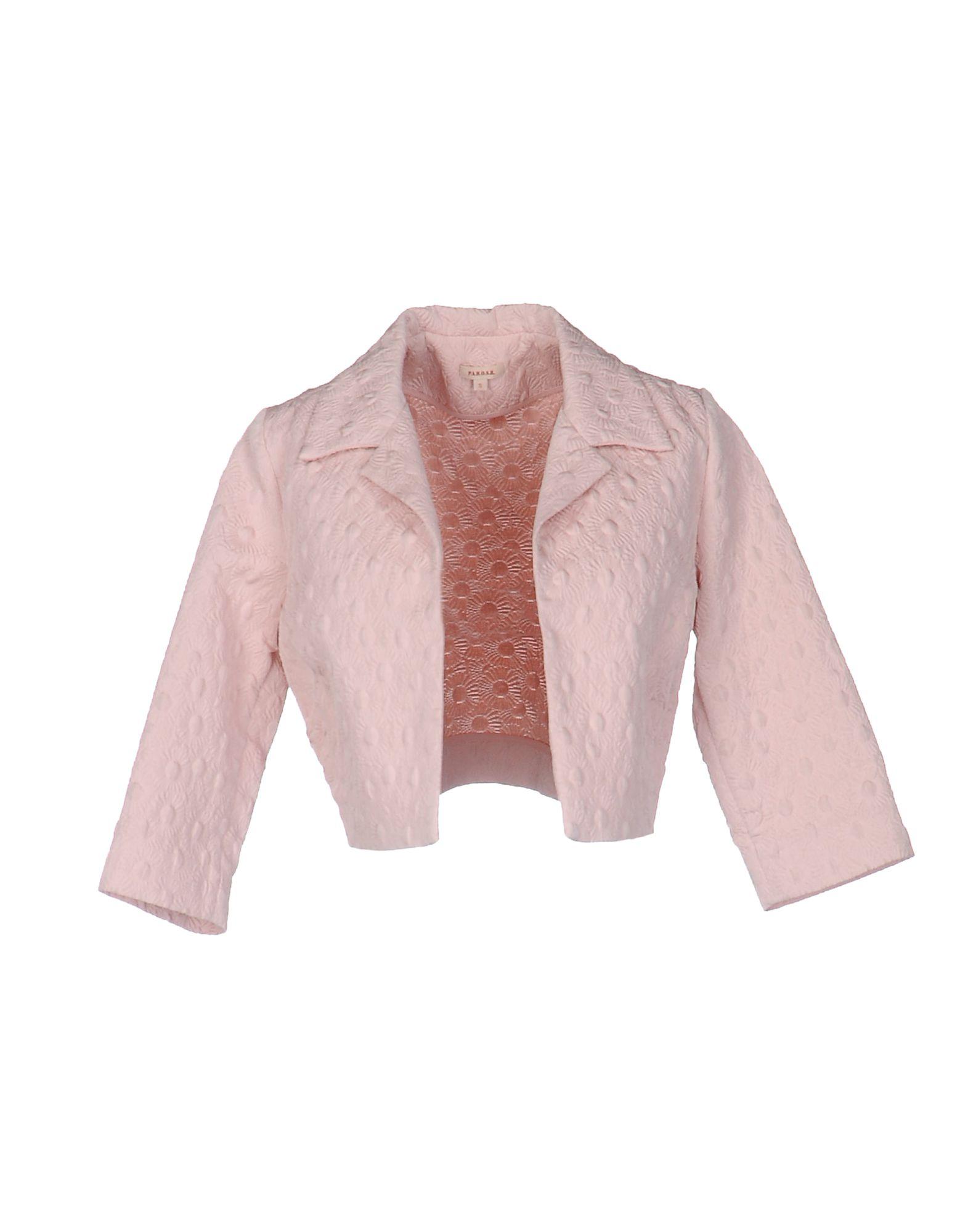 P.A.R.O.S.H. Damen Jackett Farbe Rosa Größe 4 jetztbilligerkaufen