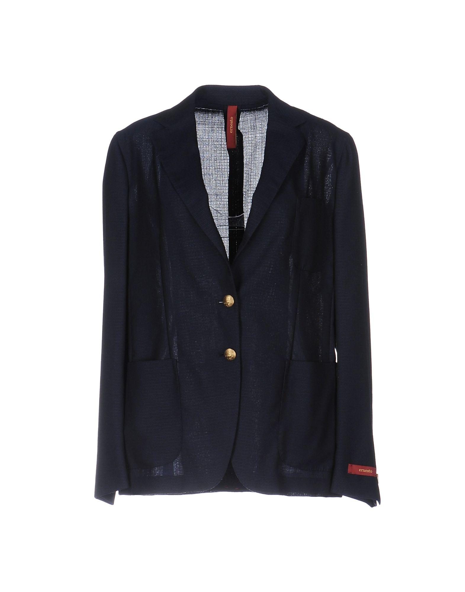 ERNESTO Damen Jackett Farbe Dunkelblau Größe 3 jetztbilligerkaufen