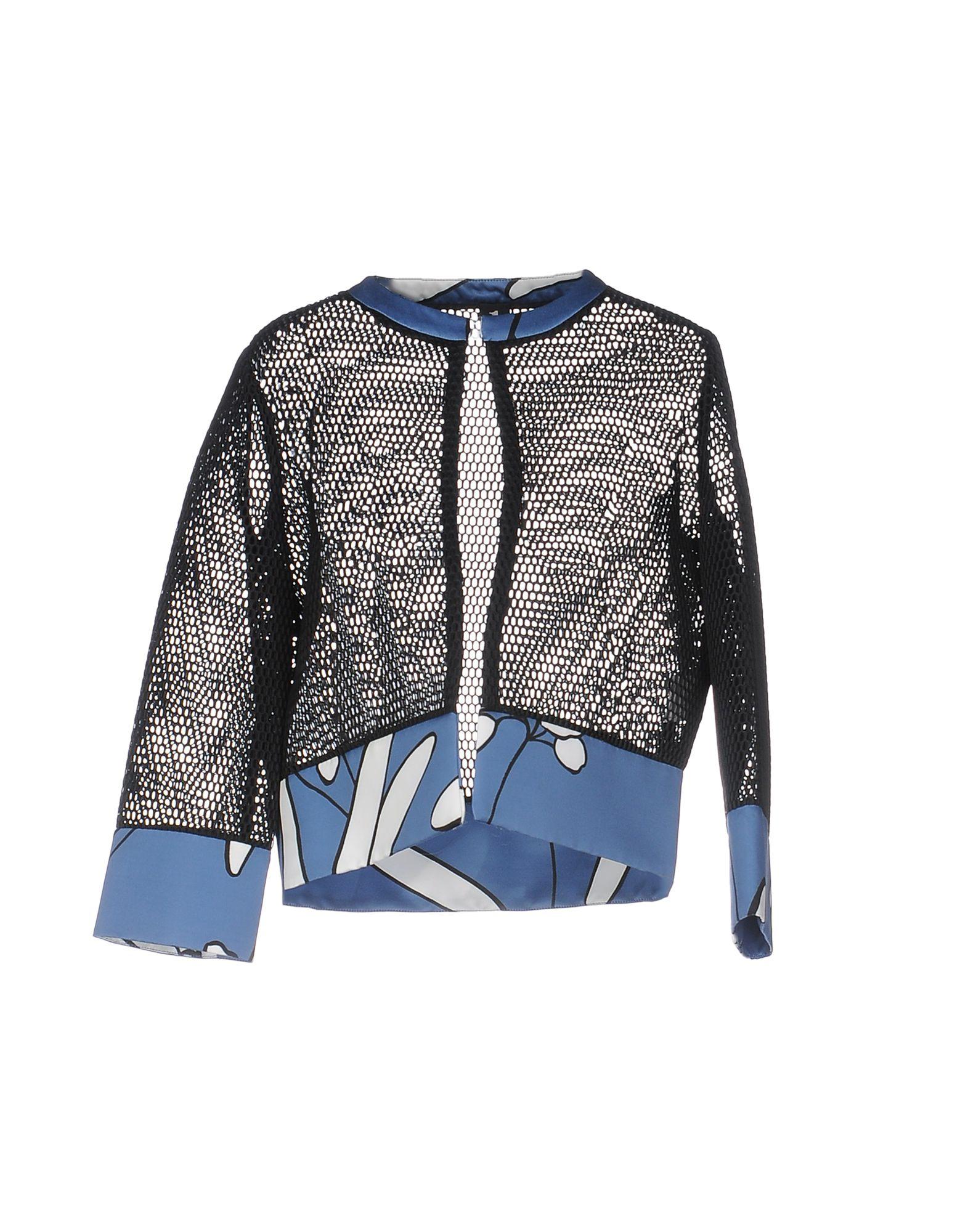 1-ONE Damen Jackett Farbe Schwarz Größe 7