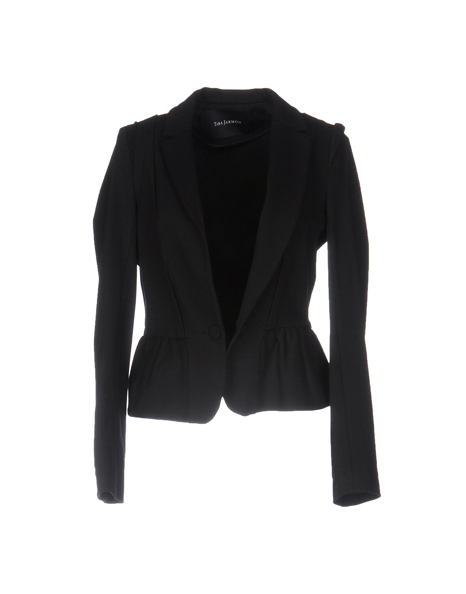 TARA JARMON Damen Jackett Farbe Schwarz Größe 6 - broschei