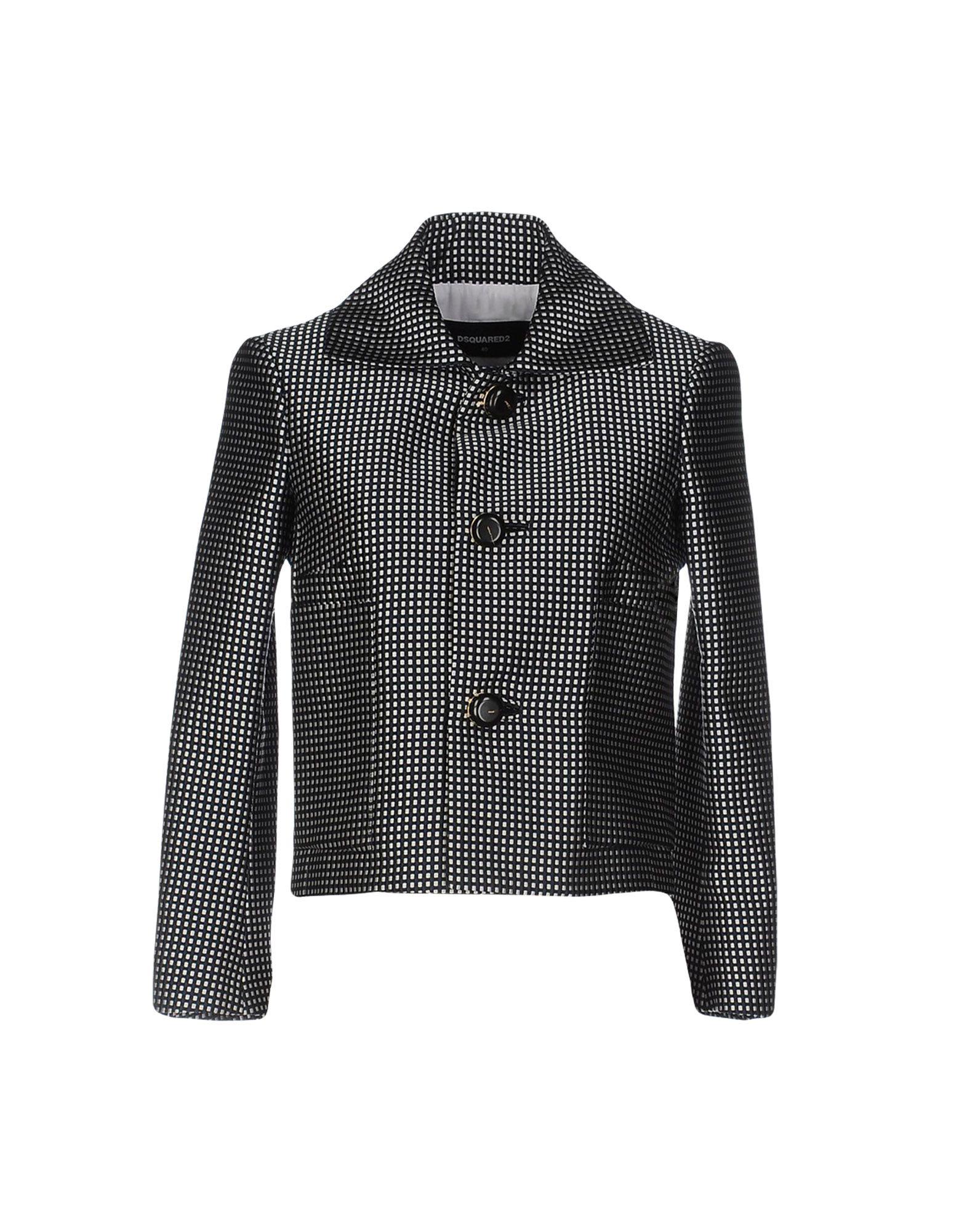 DSQUARED2 Damen Jackett Farbe Schwarz Größe 3