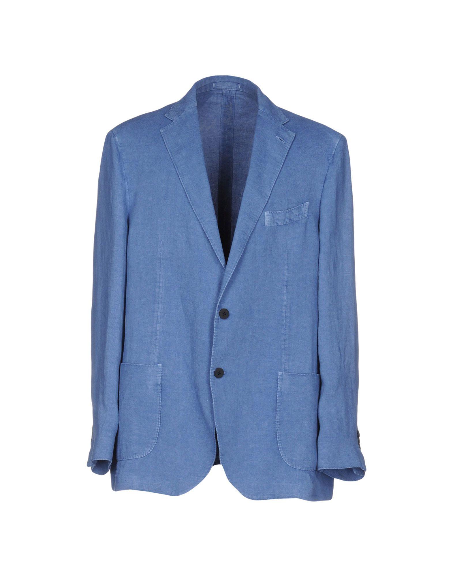 LARDINI Herren Jackett Farbe Blaugrau Größe 6 - broschei