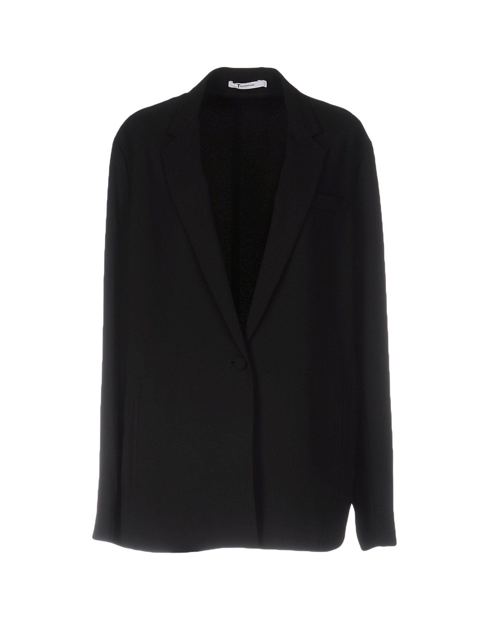 ALEXANDER WANG Damen Jackett Farbe Schwarz Größe 5 - broschei