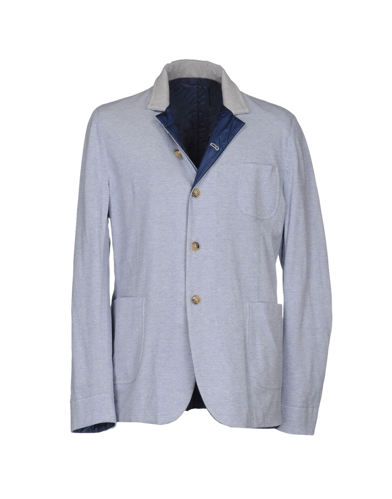 CAPOBIANCO Herren Jackett Farbe Blau Größe 6