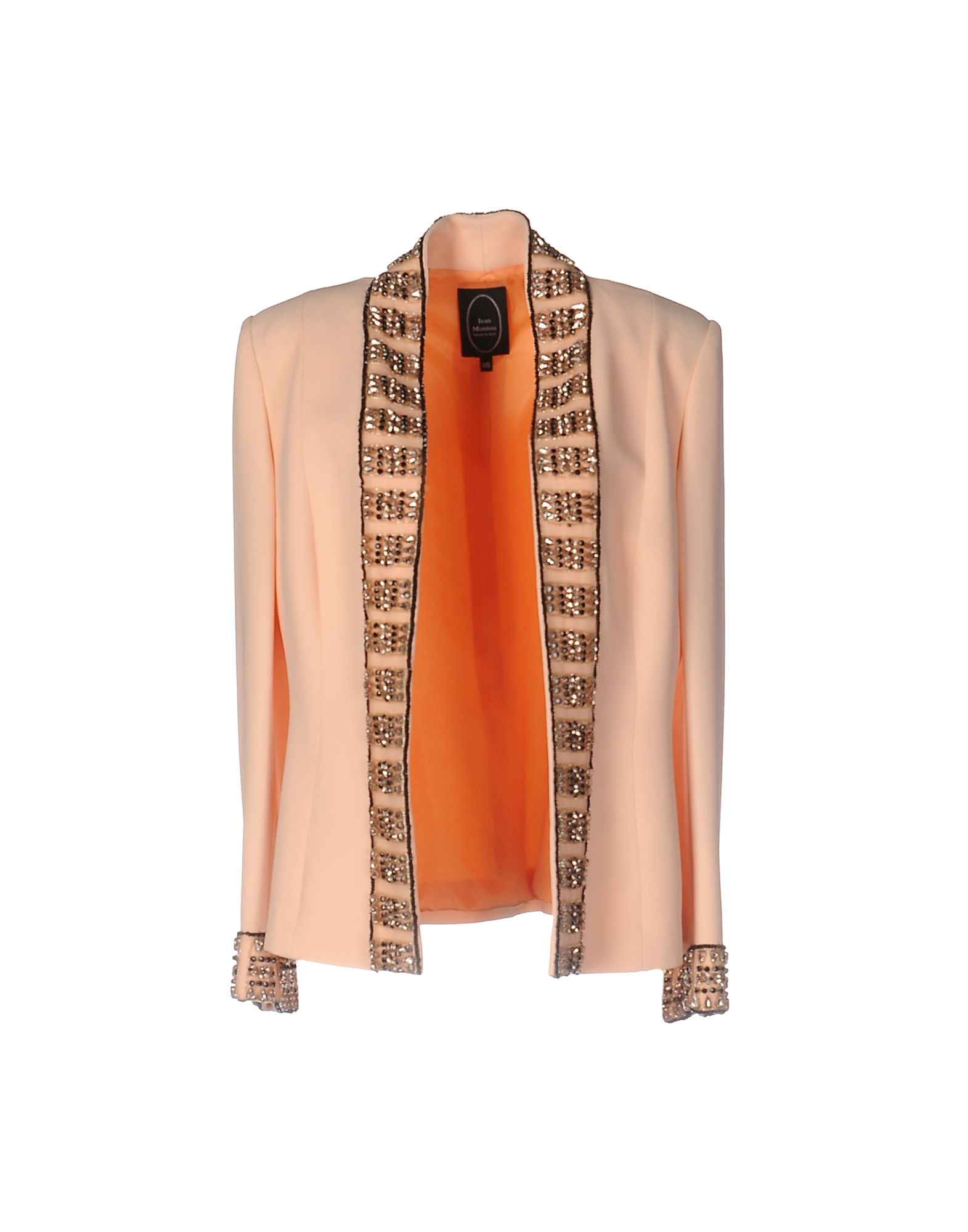 IVAN MONTESI Damen Jackett Farbe Pfirsich Größe 6 jetztbilligerkaufen