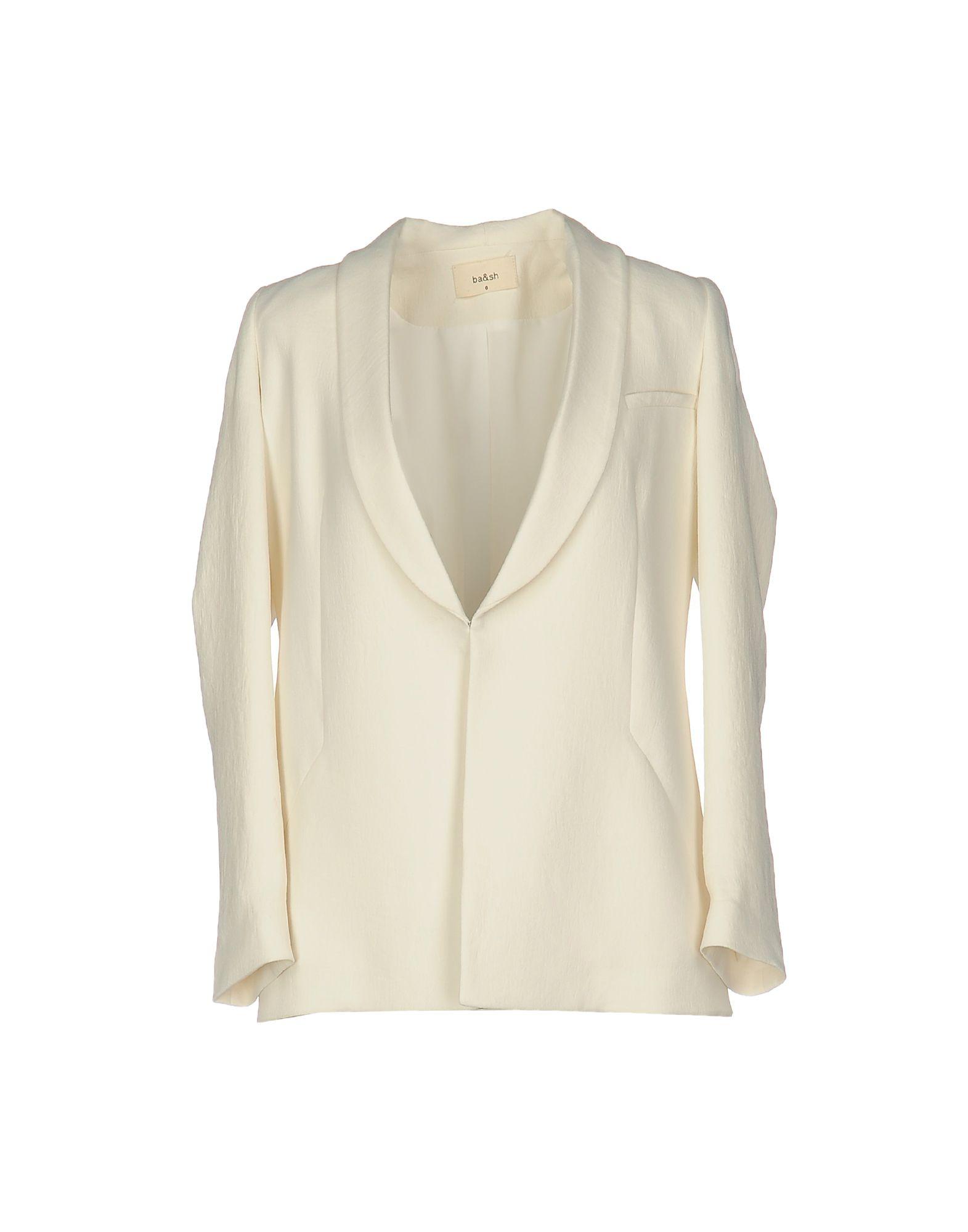 BA&SH Damen Jackett Farbe Elfenbein Größe 1 jetztbilligerkaufen