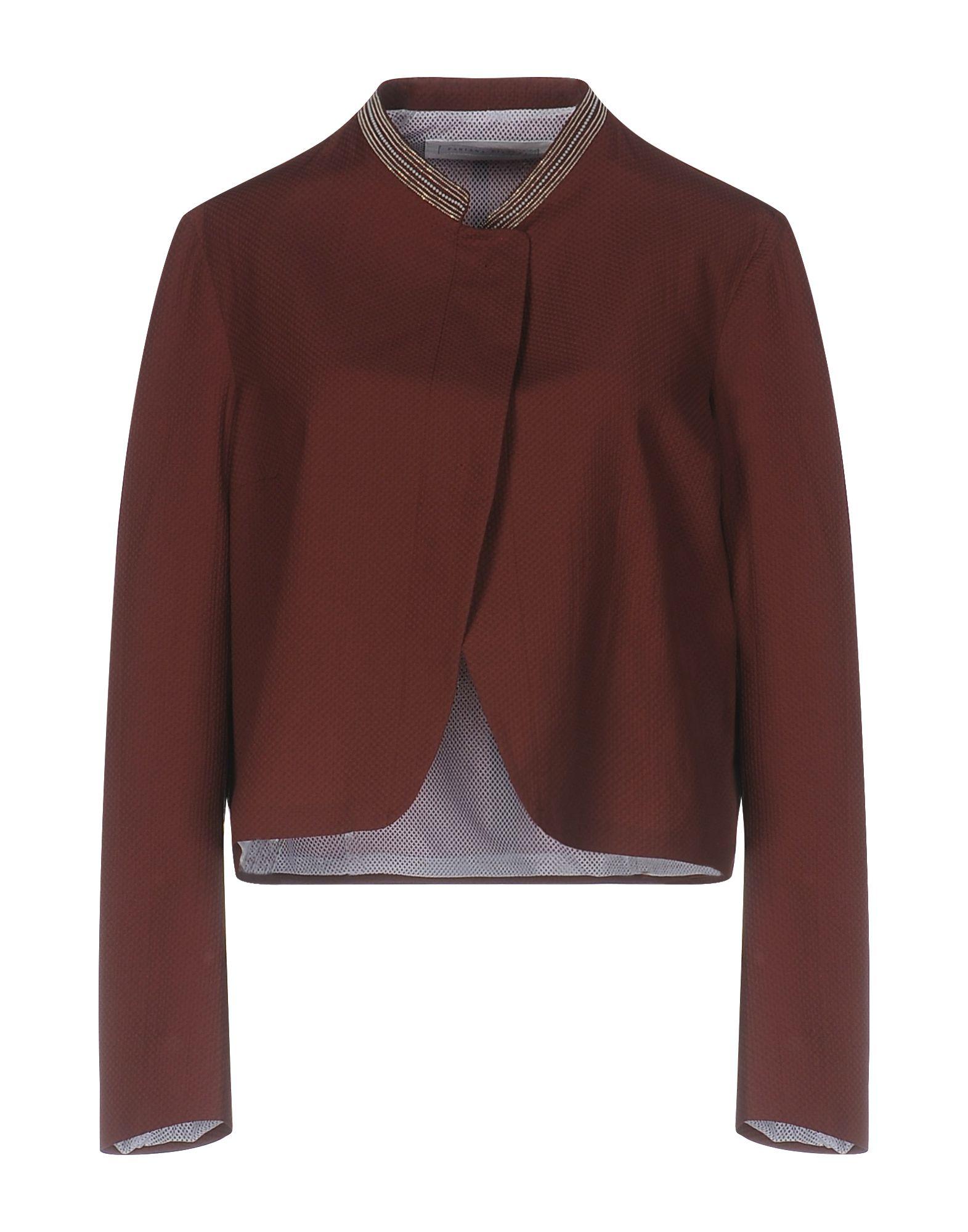 FABIANA FILIPPI Damen Jackett Farbe Braun Größe 7 jetztbilligerkaufen