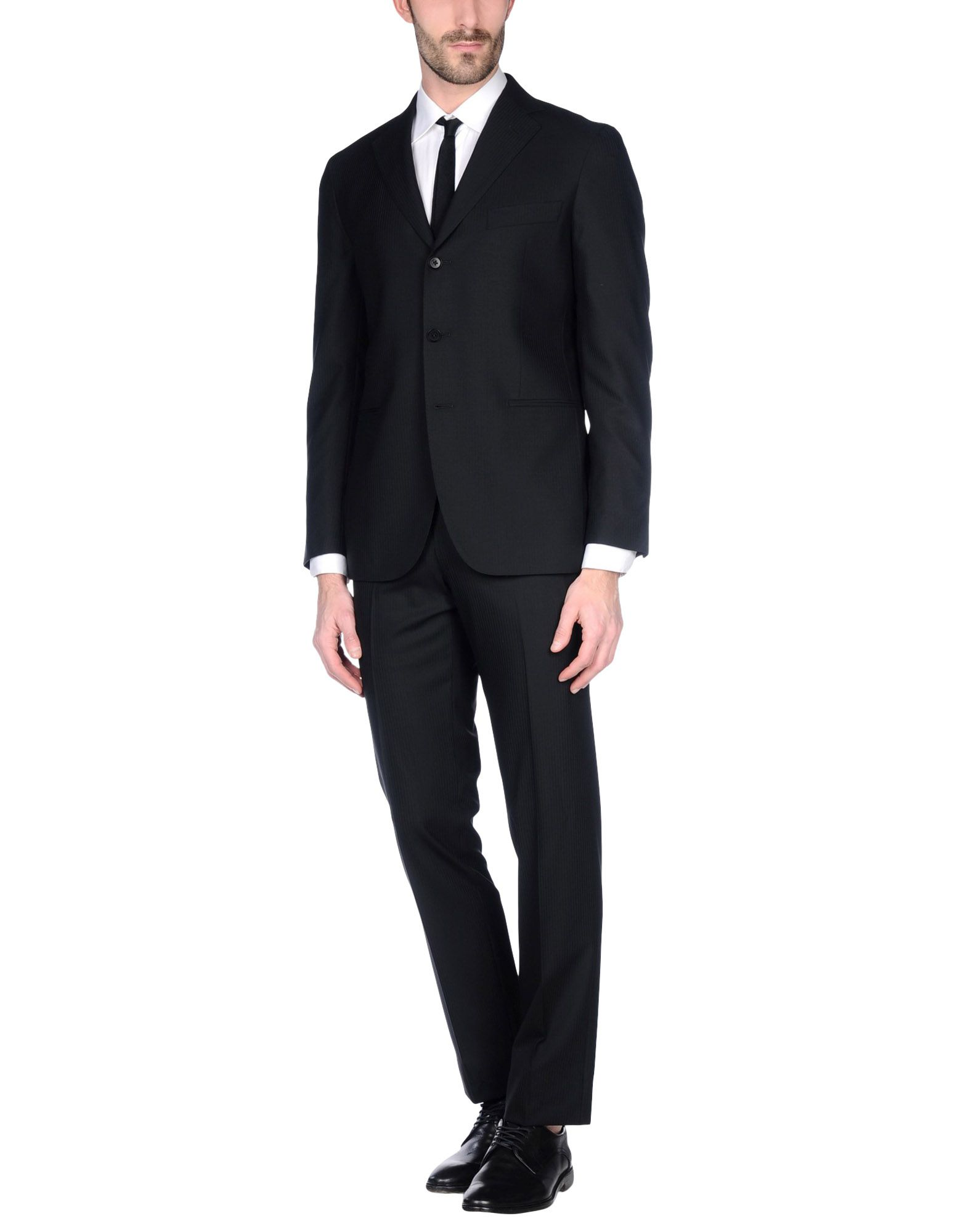 《送料無料》VITALE BARBERIS CANONICO メンズ スーツ スチールグレー 56 スーパー120 ウール 100%