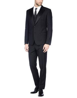 DOLCE & GABBANA Herren Anzug Farbe Schwarz Größe 5 Sale Angebote Bagenz