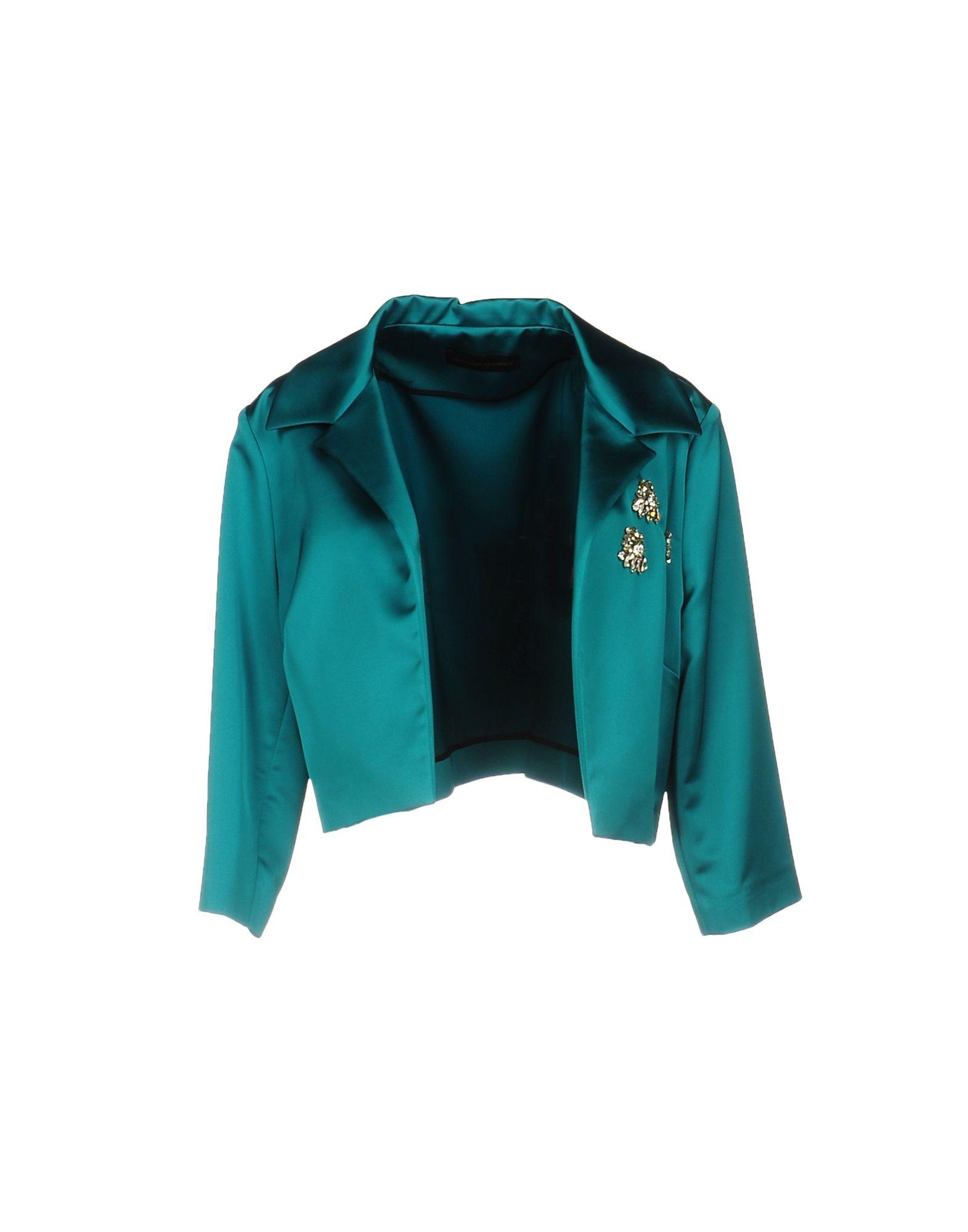 ALESSANDRO DELL'ACQUA Blazer in Emerald Green