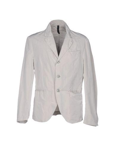 AQUARAMA Veste homme. tissu technique, pinces, couleur unie de base, col avec revers, veste droite, fermeture avec boutons, petite poche unique, multi