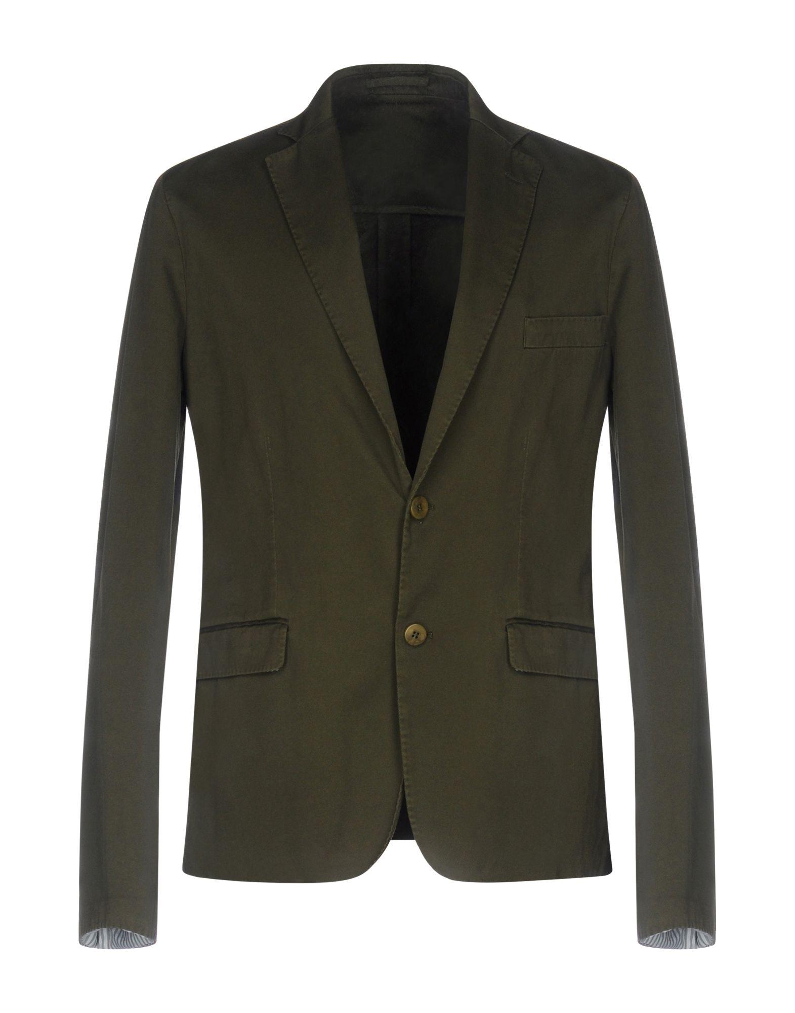 ROYAL HEM Blazer in Military Green