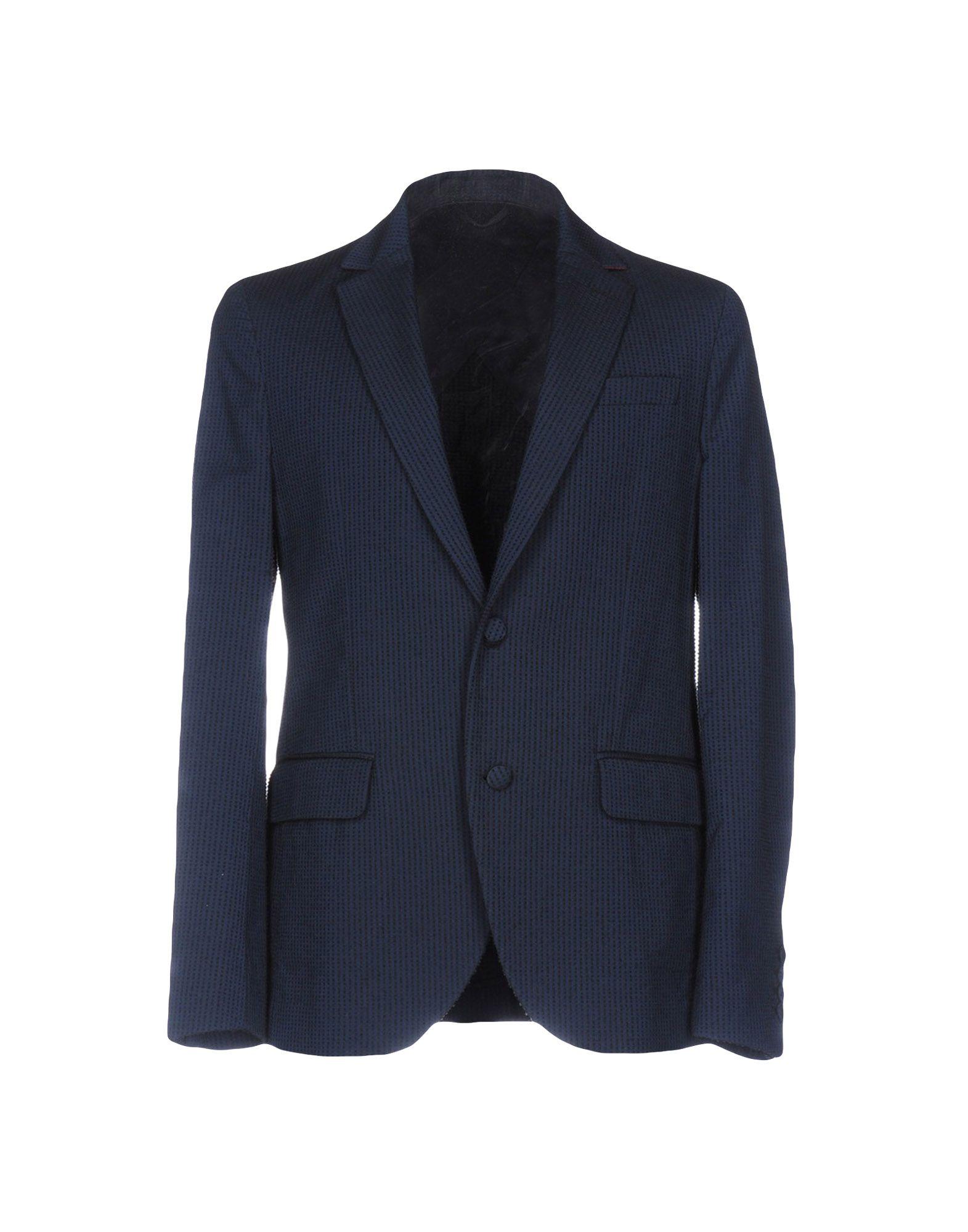 MAISON LVCHINO Blazer in Dark Blue