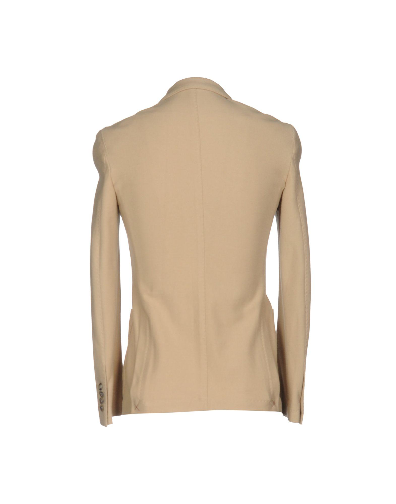 《セール開催中》BALLANTYNE メンズ テーラードジャケット サンド 50 コットン 100%