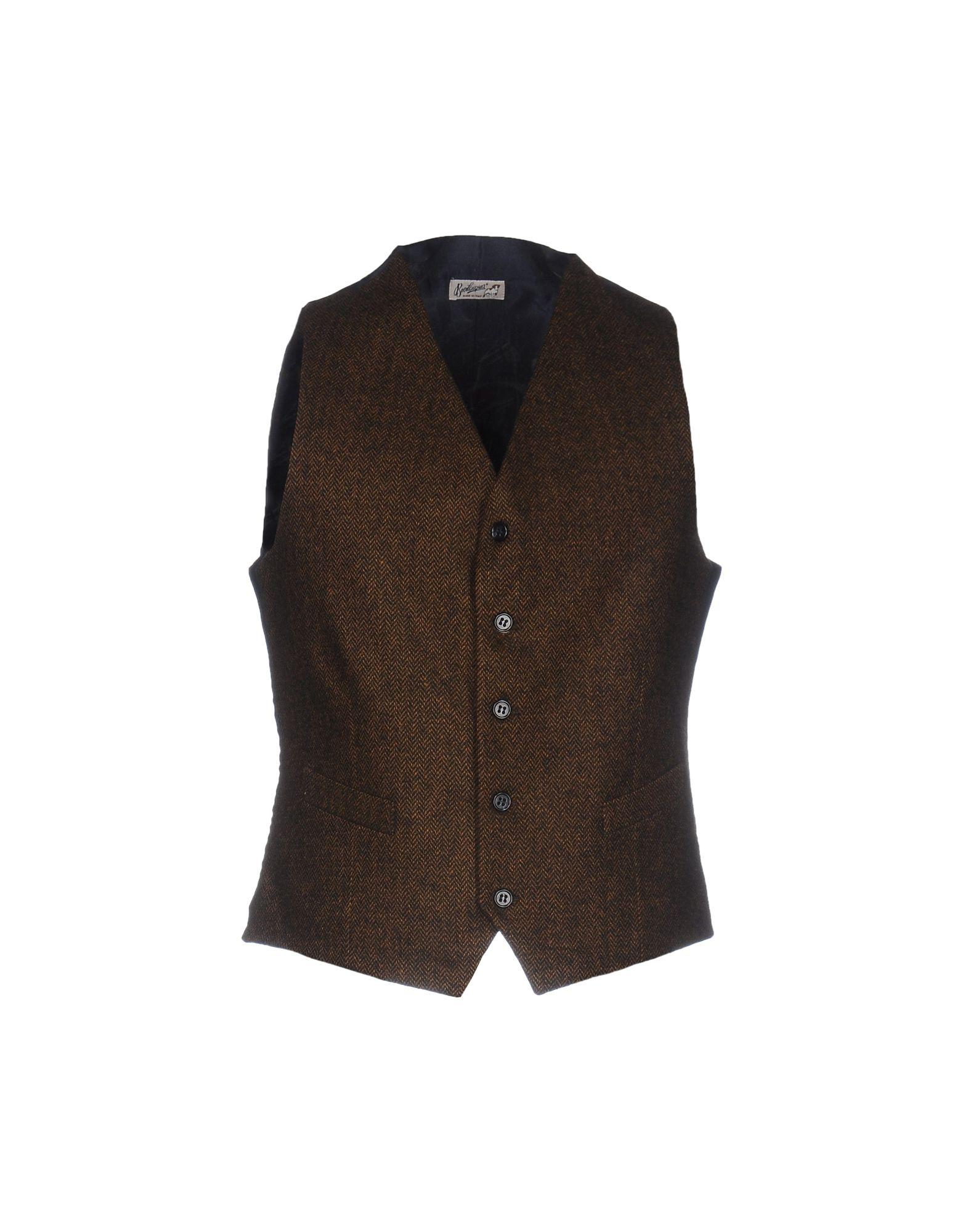 BEVILACQUA Suit Vest in Khaki