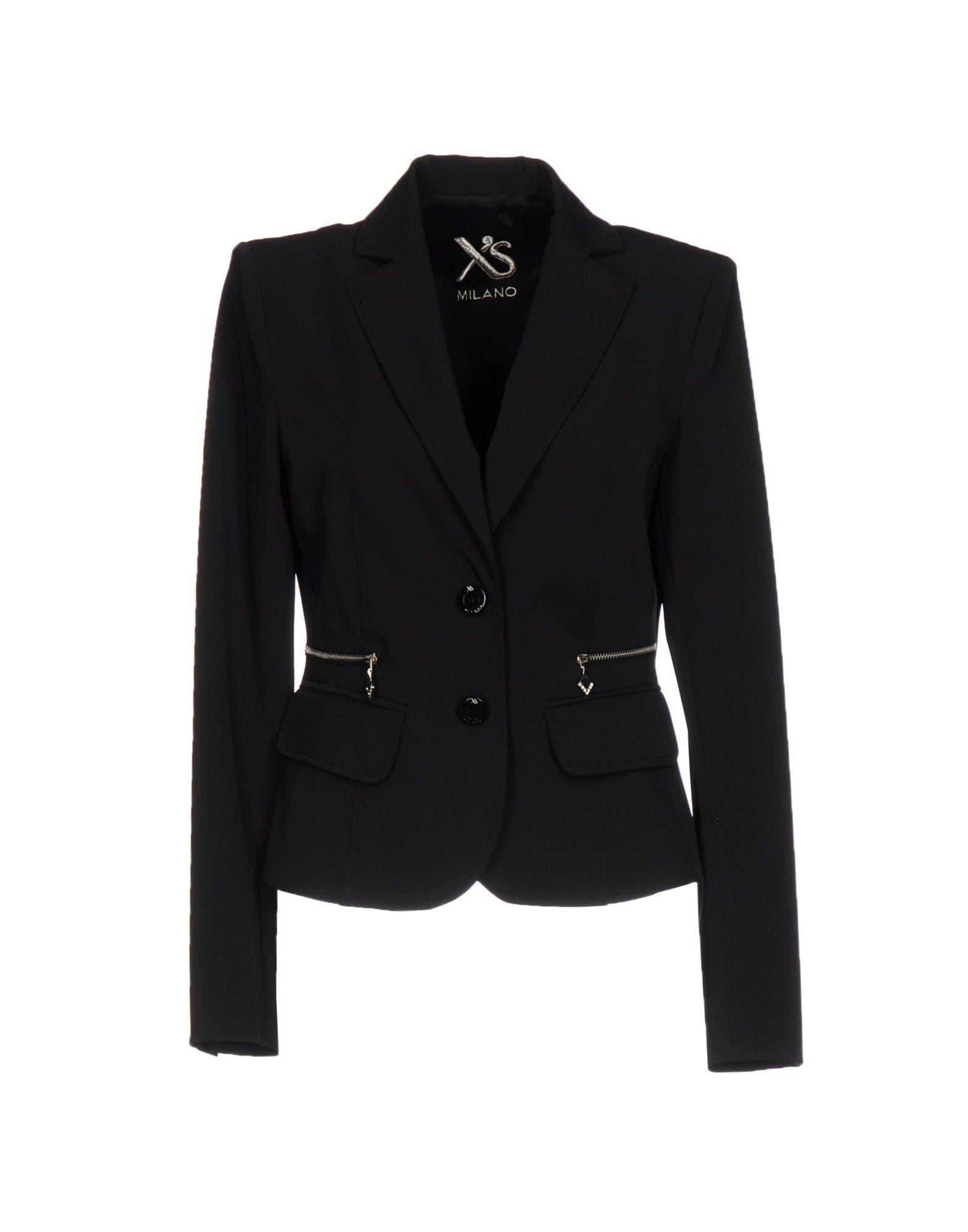 X´S MILANO Damen Jackett Farbe Schwarz Größe 5