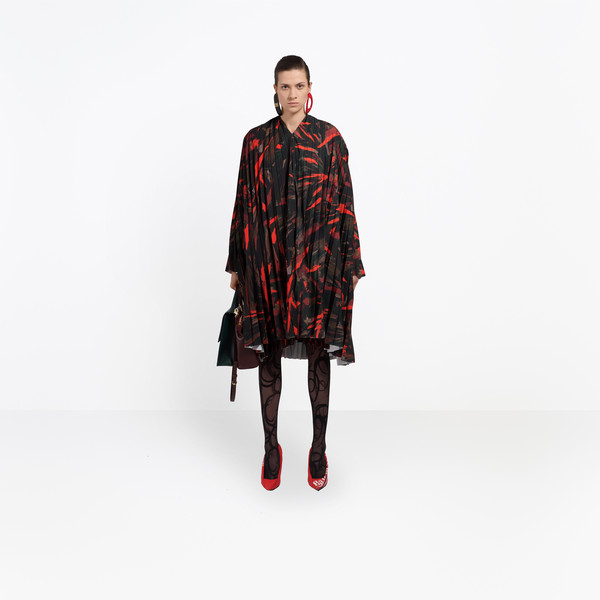 BALENCIAGA ドレス D Semi Fitted Dress g