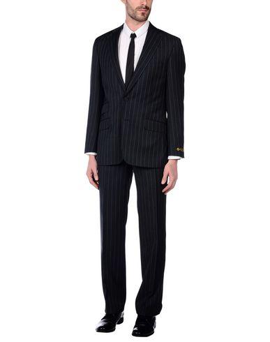 HENRY JERMYN メンズ スーツ スチールグレー 36 R ポリエステル 55% / ウール 45%