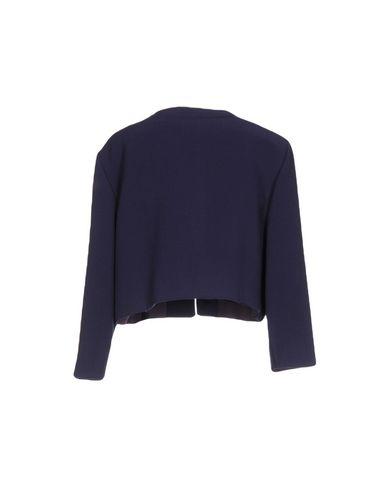 Фото 2 - Женский пиджак  темно-фиолетового цвета