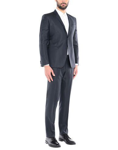 Фото - Мужской костюм BRIAN DALES темно-синего цвета