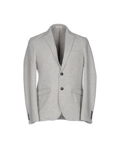 Фото - Мужской пиджак OFFICINA 36 светло-серого цвета