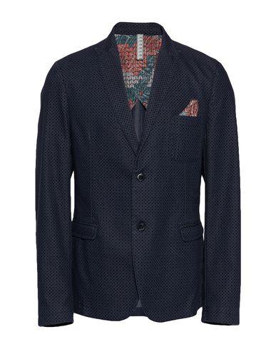 Фото - Мужской пиджак BERNA темно-синего цвета