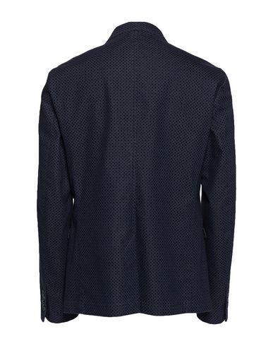 Фото 2 - Мужской пиджак BERNA темно-синего цвета