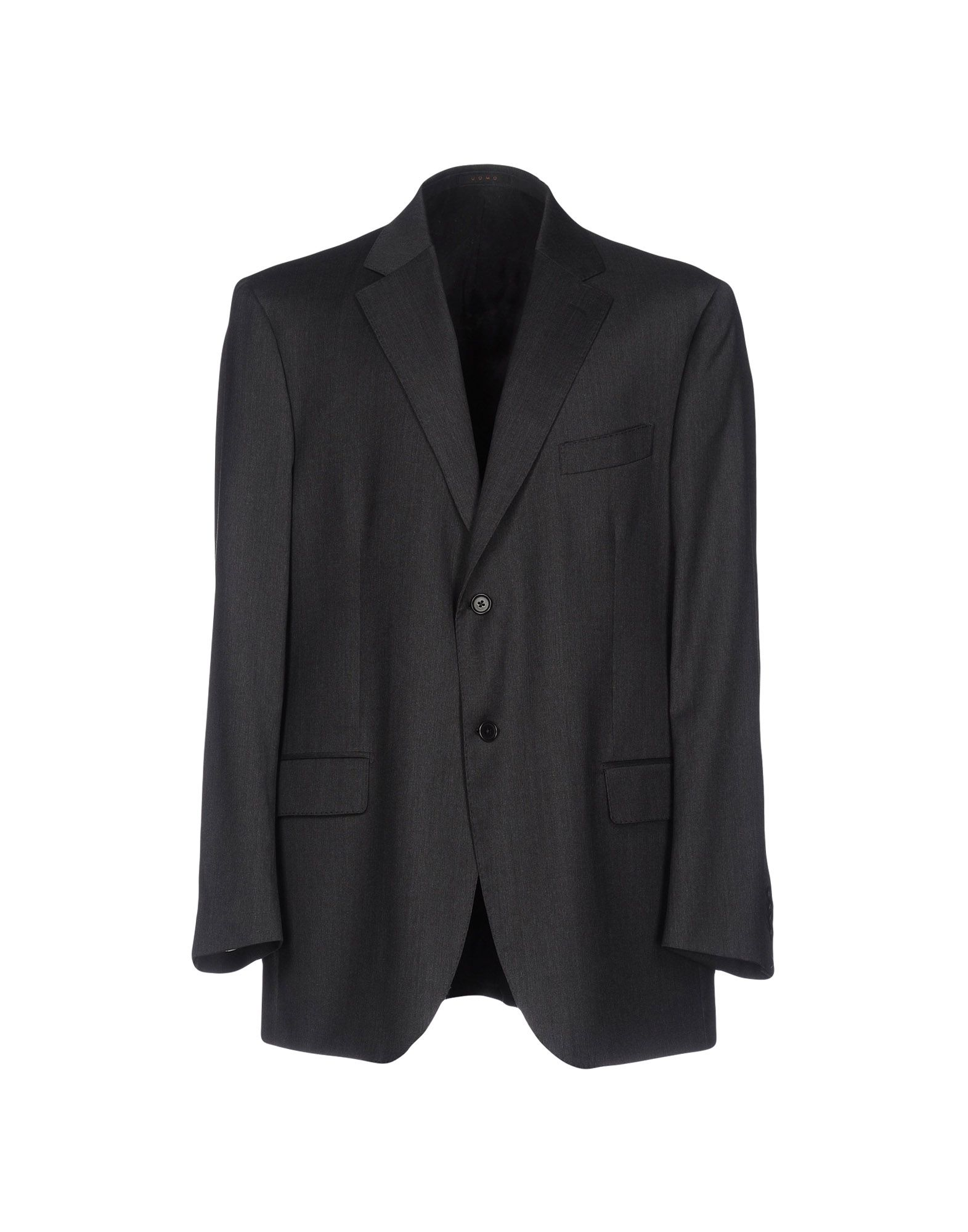 《送料無料》LORENZO SCARPA メンズ テーラードジャケット スチールグレー 60 バージンウール 100%
