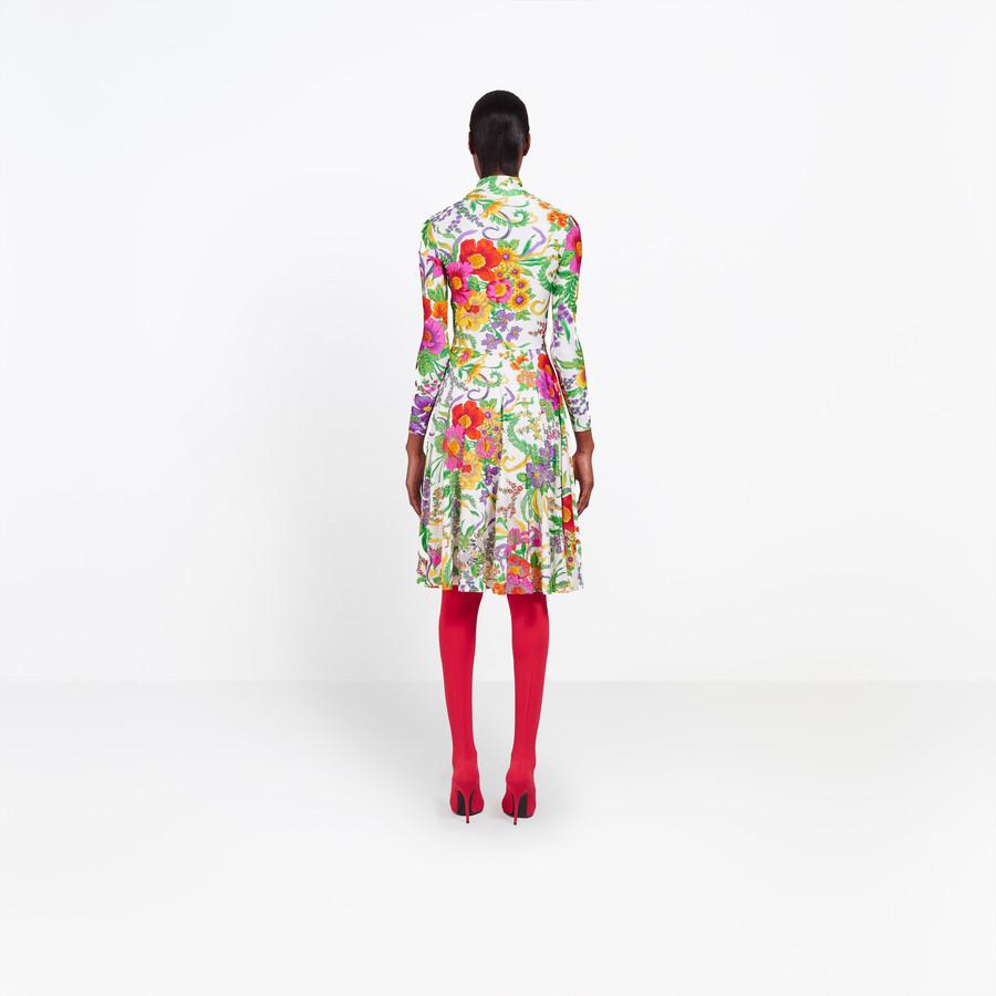 BALENCIAGA Embroidered Ice Skater Dress Dress Woman d