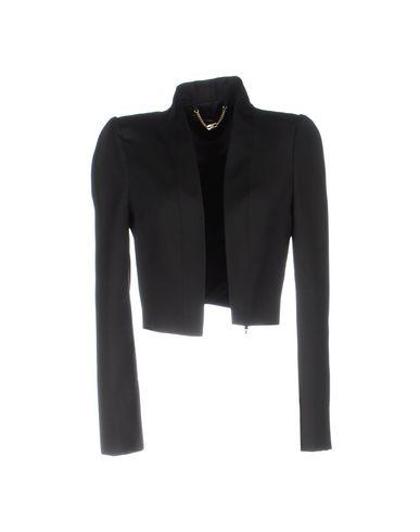 Фото - Женский пиджак ELISABETTA FRANCHI 24 ORE черного цвета