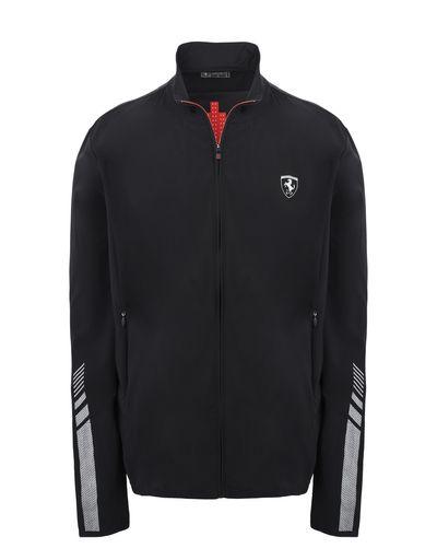 Scuderia Ferrari Online Store - Men's lightweight sweatshirt - Zip Sweaters