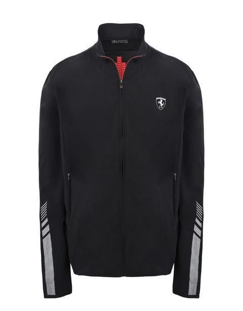 Scuderia Ferrari Online Store - Leichtes sportliches Herren-Sweatshirt - Pullover mit Reißverschluss