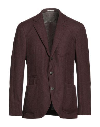 Фото - Мужской пиджак  цвет баклажанный