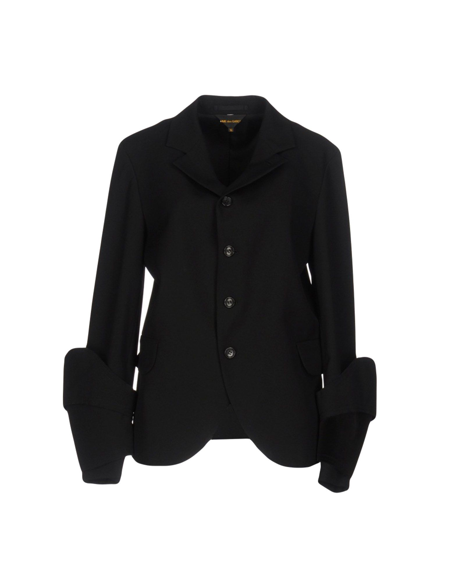 レディース COMME des GARONS テーラードジャケット ブラック