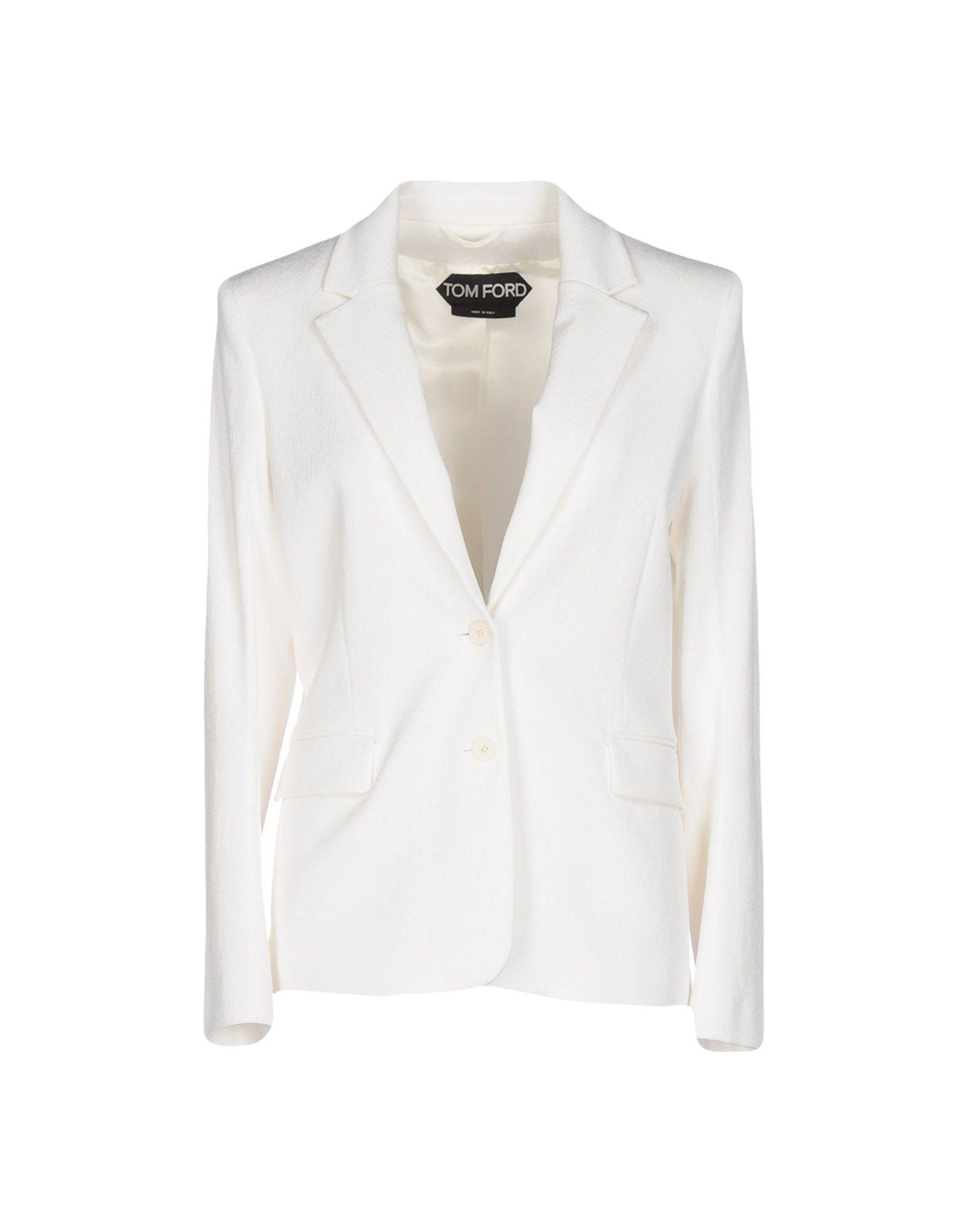 TOM FORD Damen Jackett Farbe Elfenbein Größe 5 jetztbilligerkaufen