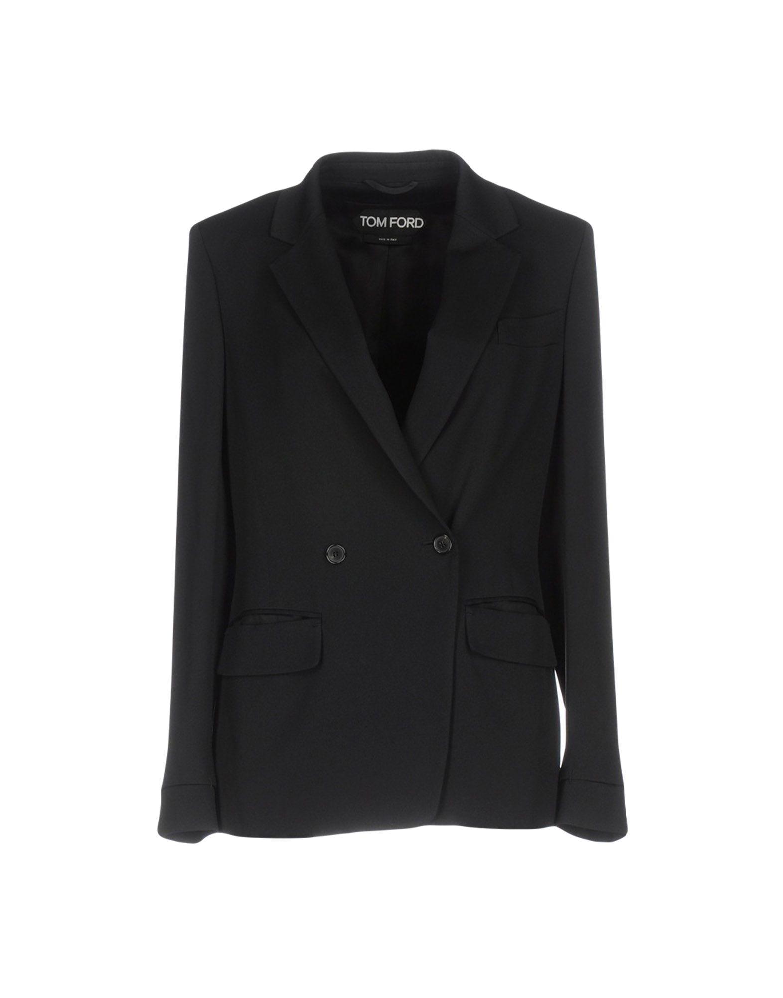 TOM FORD Damen Jackett Farbe Schwarz Größe 3 jetztbilligerkaufen