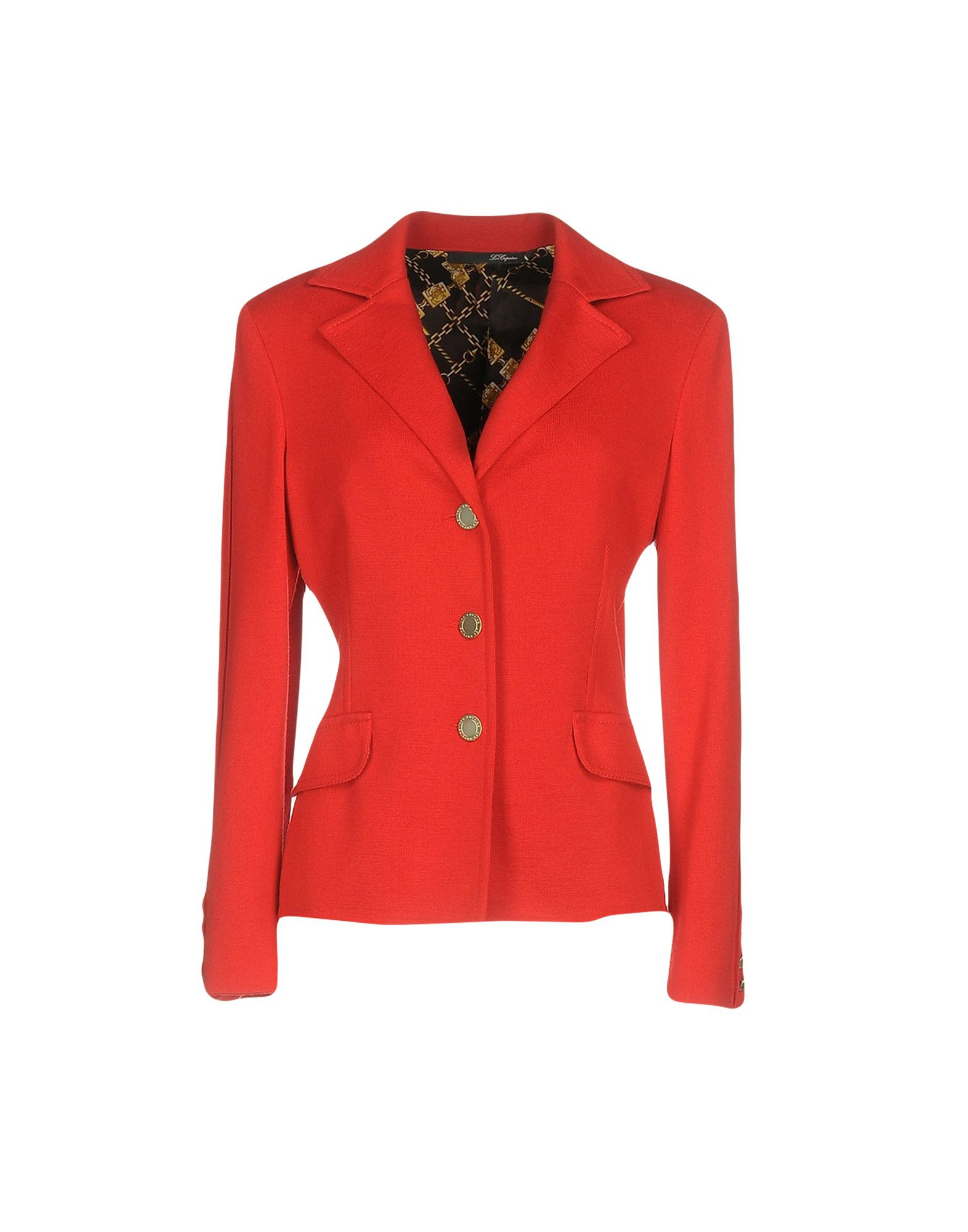 LES COPAINS Damen Jackett Farbe Rot Größe 6 - broschei