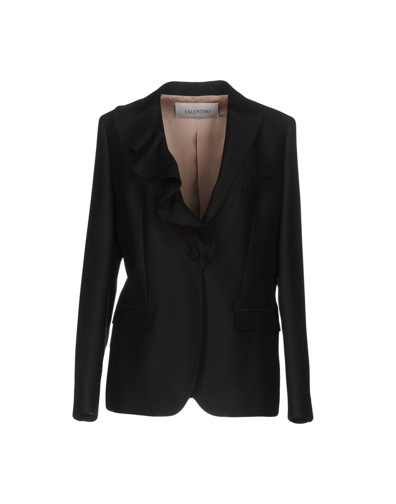 VALENTINO Damen Jackett Farbe Schwarz Größe 5 jetztbilligerkaufen