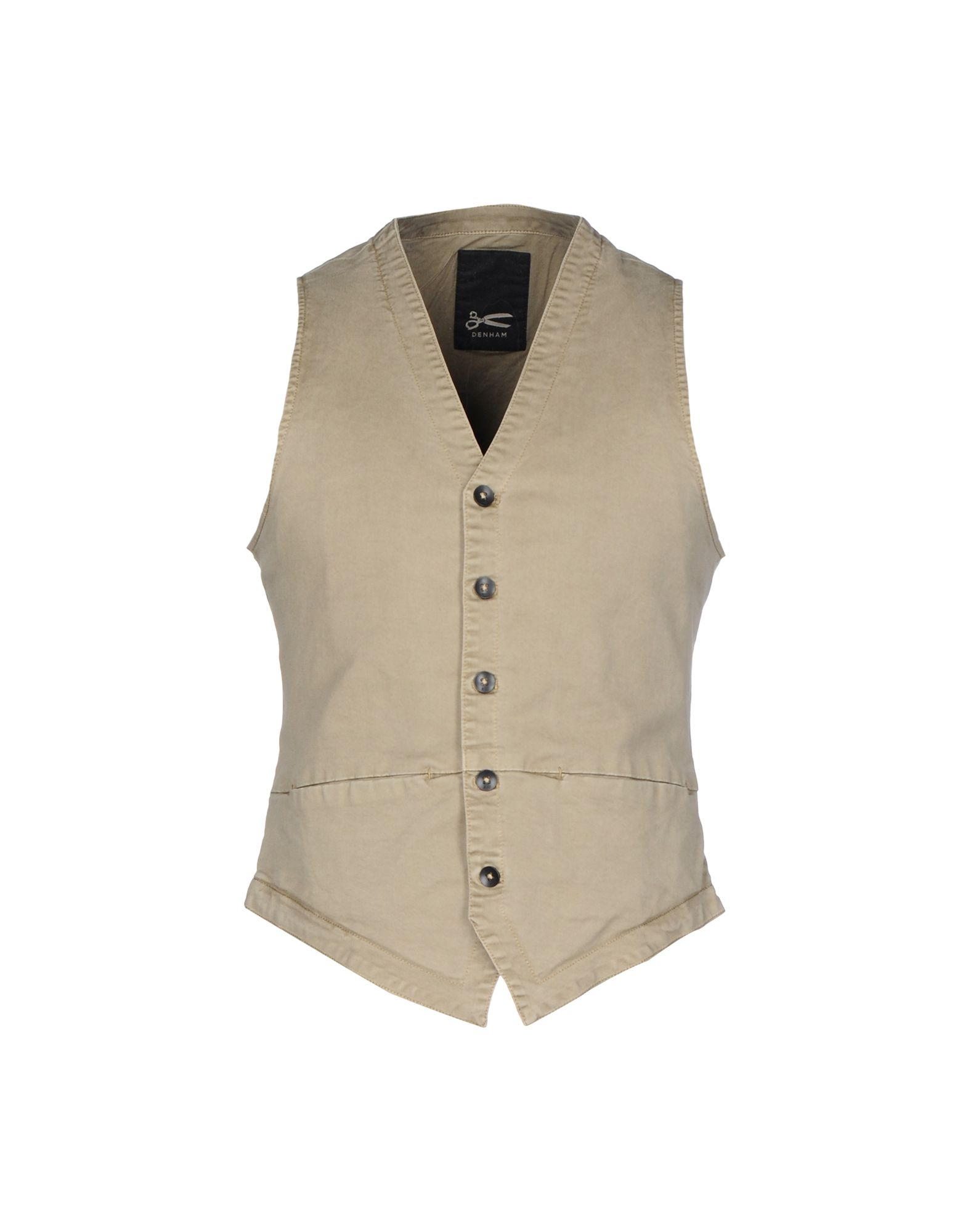 DENHAM Suit Vest in Sand