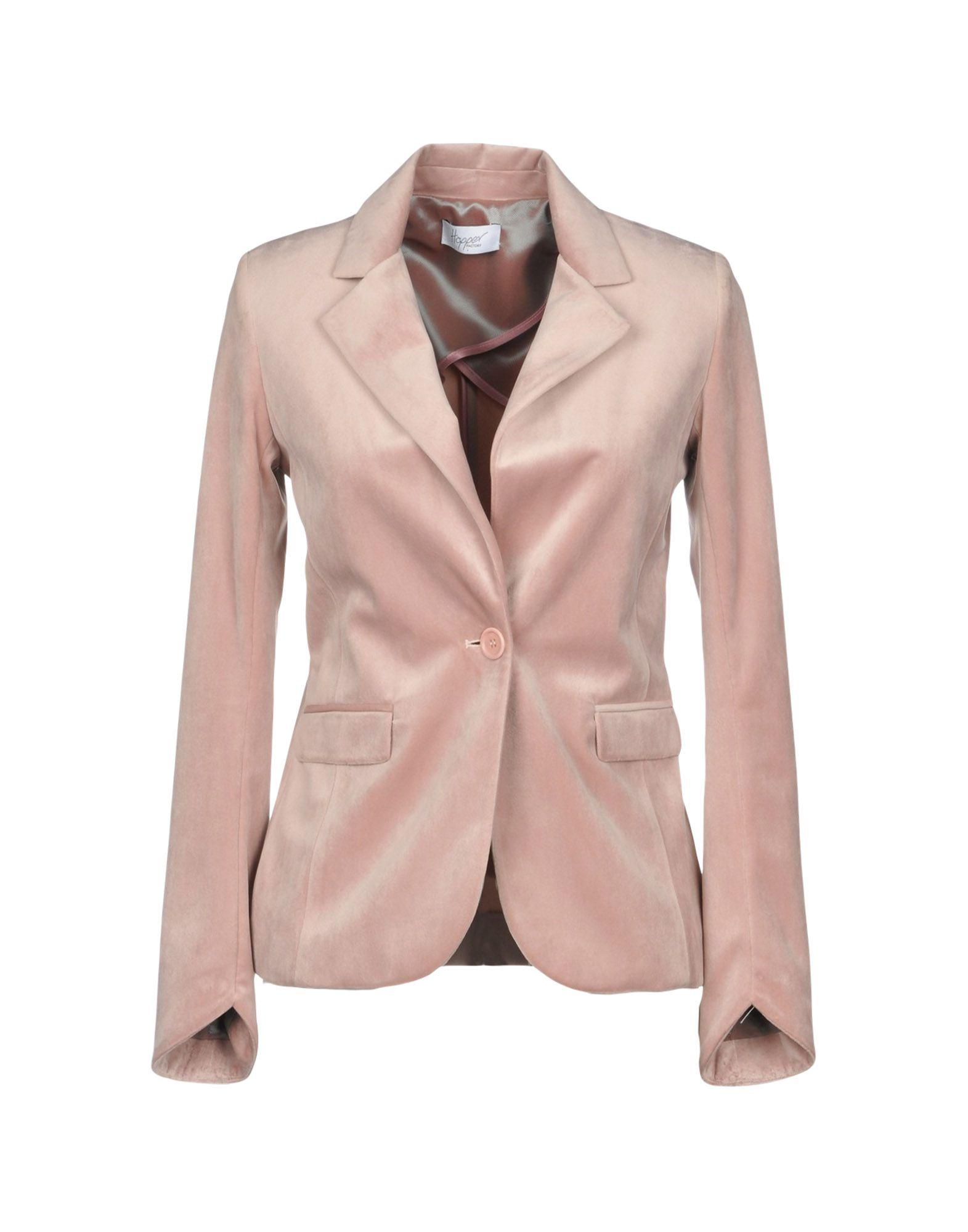 《送料無料》HOPPER レディース テーラードジャケット ピンク 40 ポリエステル 100%