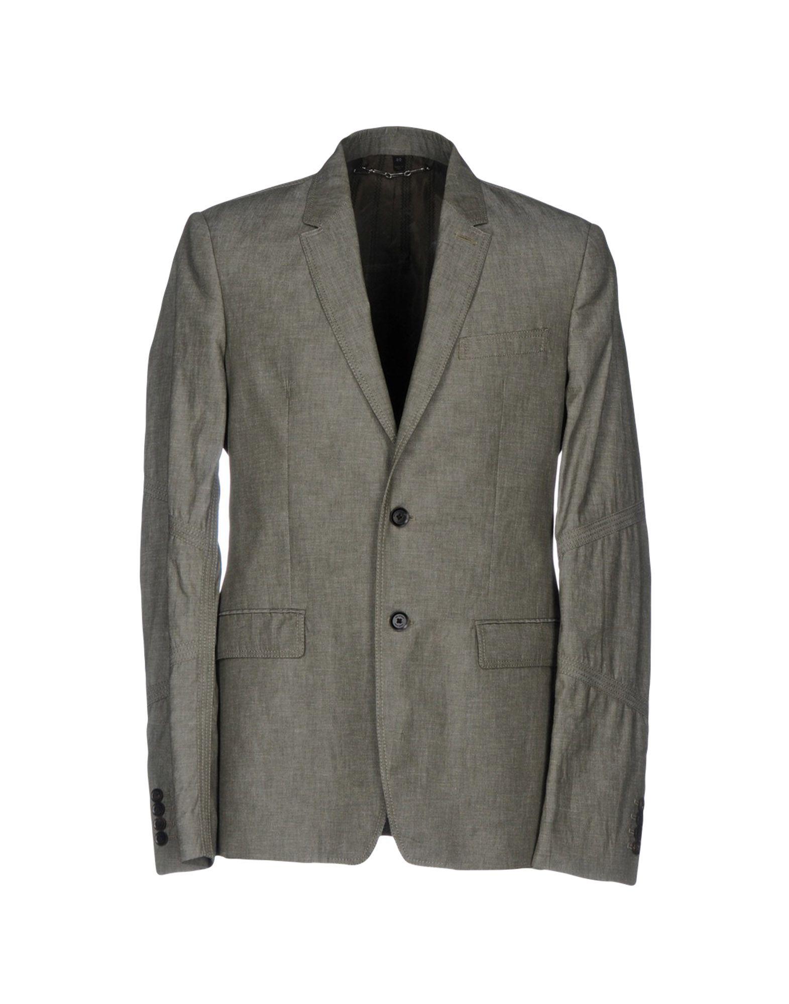 《セール開催中》BELSTAFF メンズ テーラードジャケット 鉛色 48 60% 麻 40% コットン
