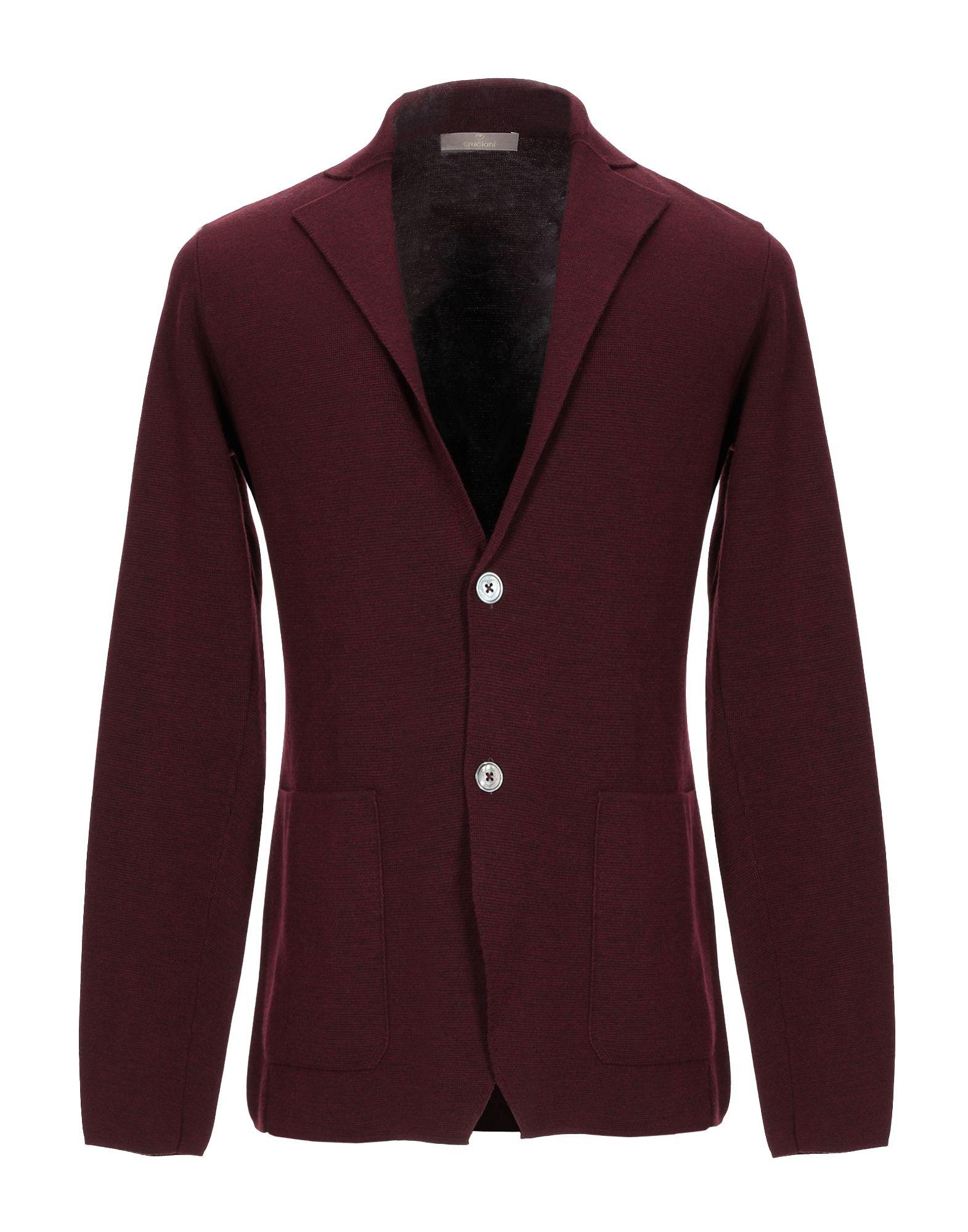 CRUCIANI Пиджак cruciani двубортный вязаный пиджак