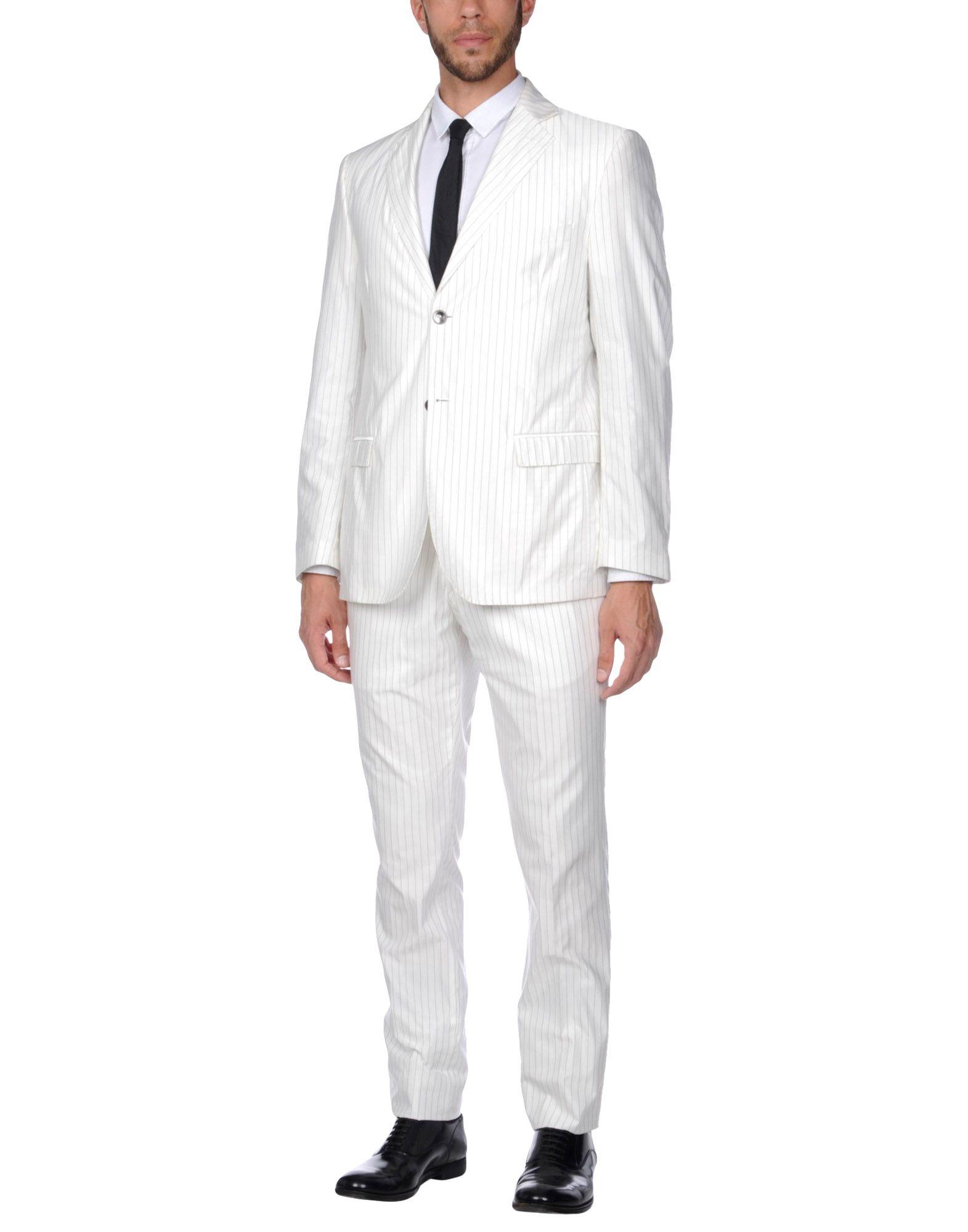 MONTEZEMOLO Suits in White
