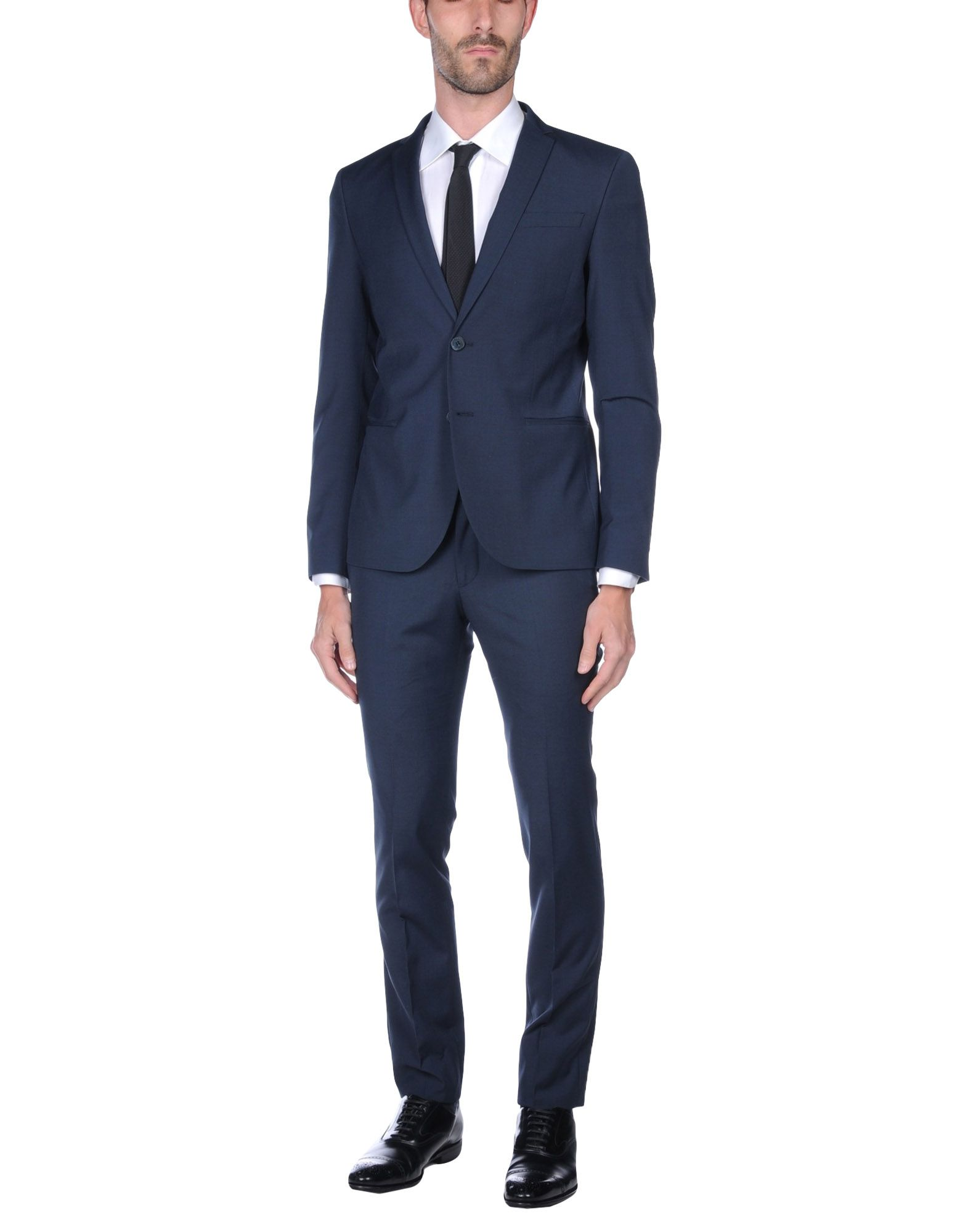 MANUEL RITZ Herren Anzug Farbe Dunkelblau Größe 3 jetztbilligerkaufen