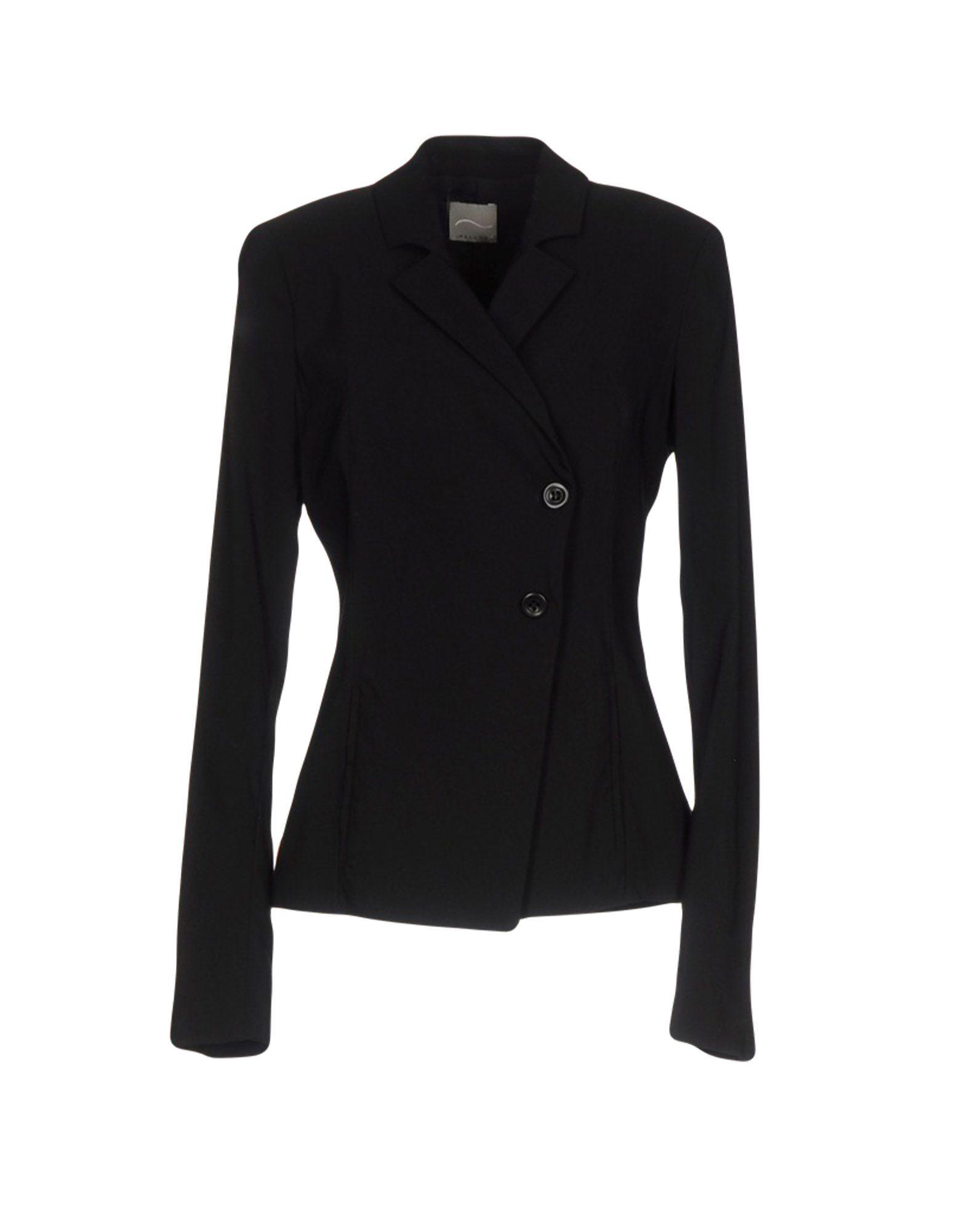 MALLONI Damen Jackett Farbe Schwarz Größe 4 jetztbilligerkaufen