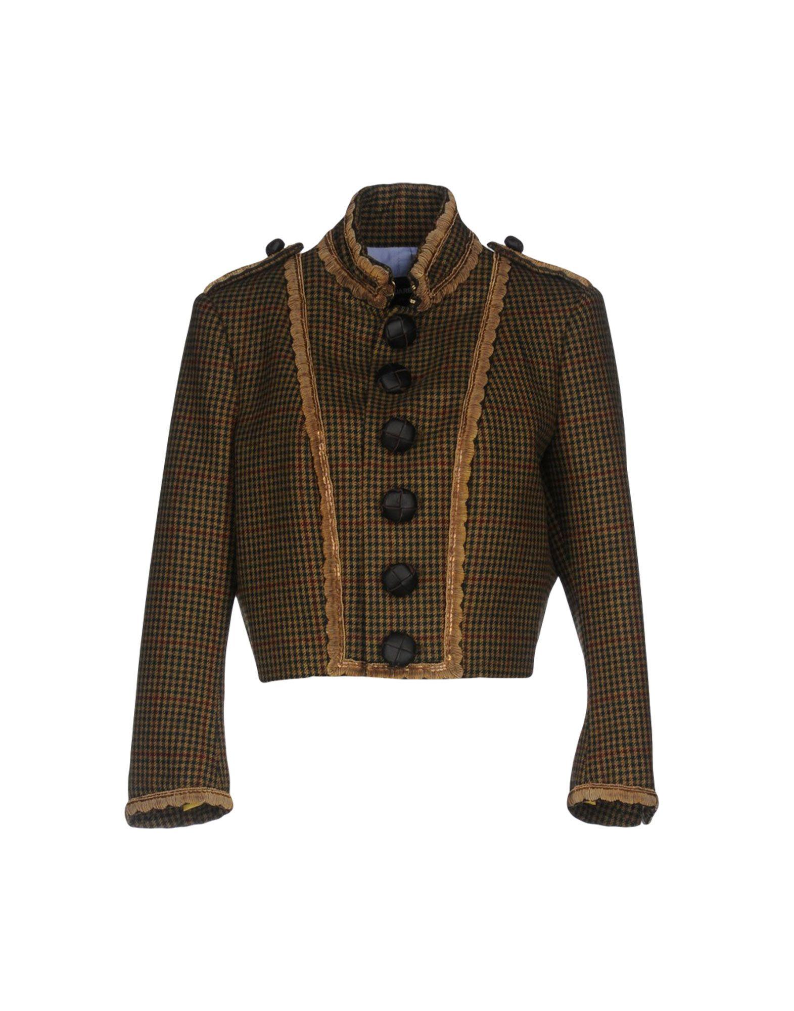 DSQUARED2 Damen Jackett Farbe Militärgrün Größe 6 jetztbilligerkaufen