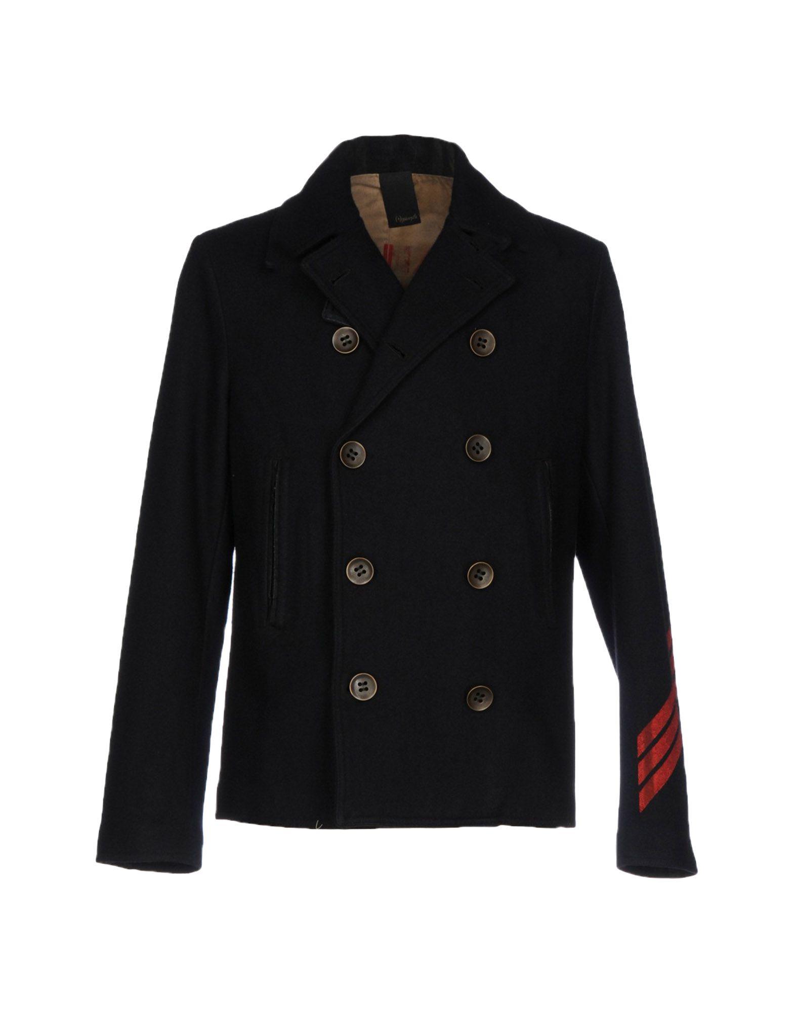 (+) PEOPLE Herren Mantel Farbe Schwarz Größe 4 jetztbilligerkaufen