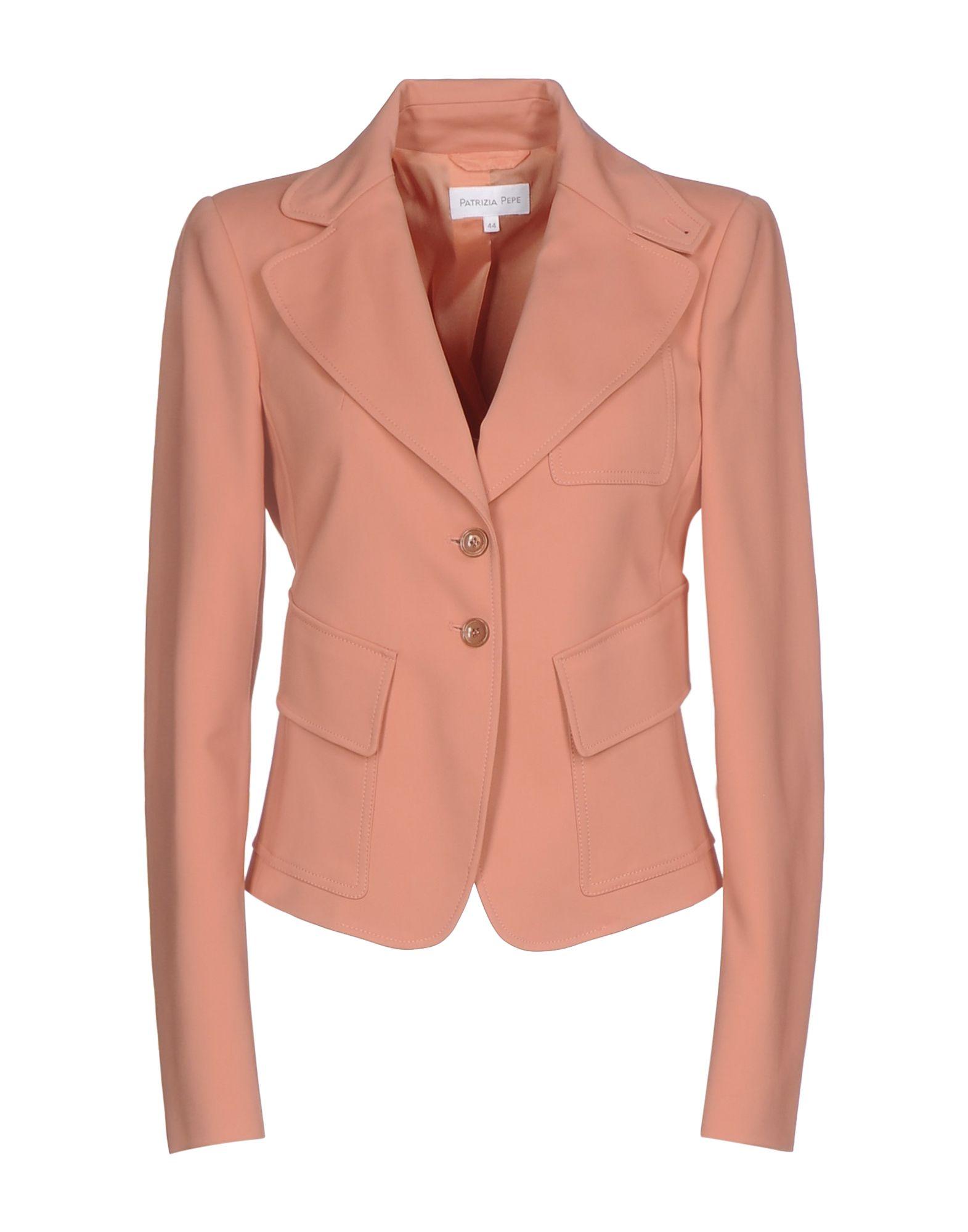 PATRIZIA PEPE Damen Jackett Farbe Lachs Größe 4 jetztbilligerkaufen