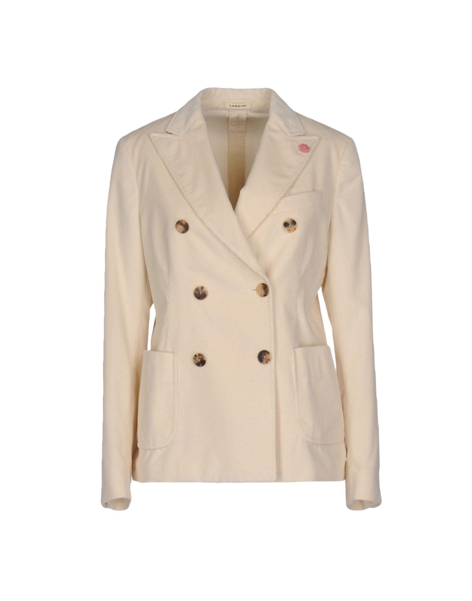 LARDINI Damen Jackett Farbe Elfenbein Größe 5 jetztbilligerkaufen